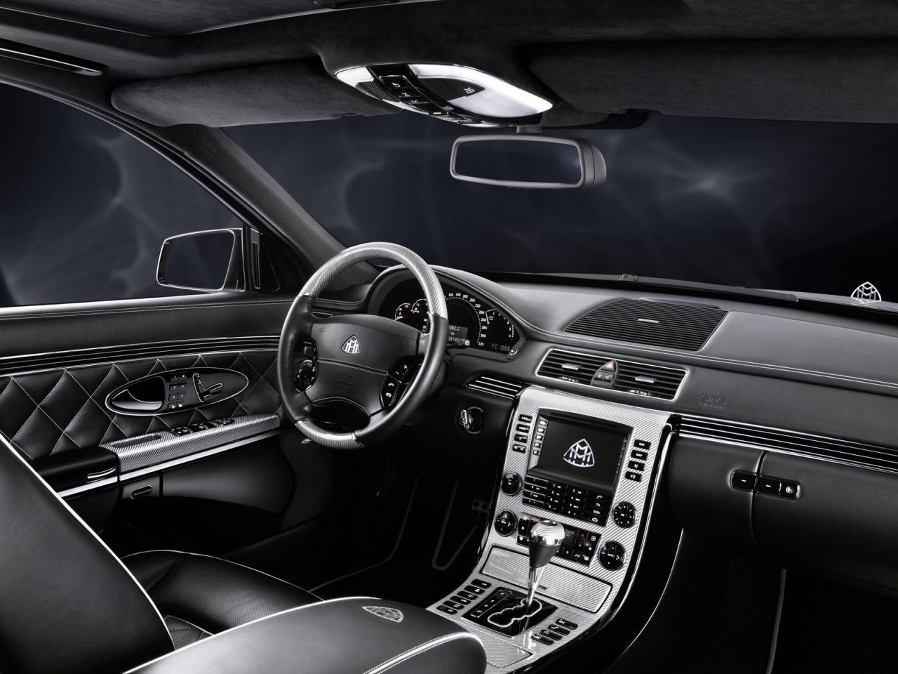 maybach exelero interior. maybach edition 125 exelero interior