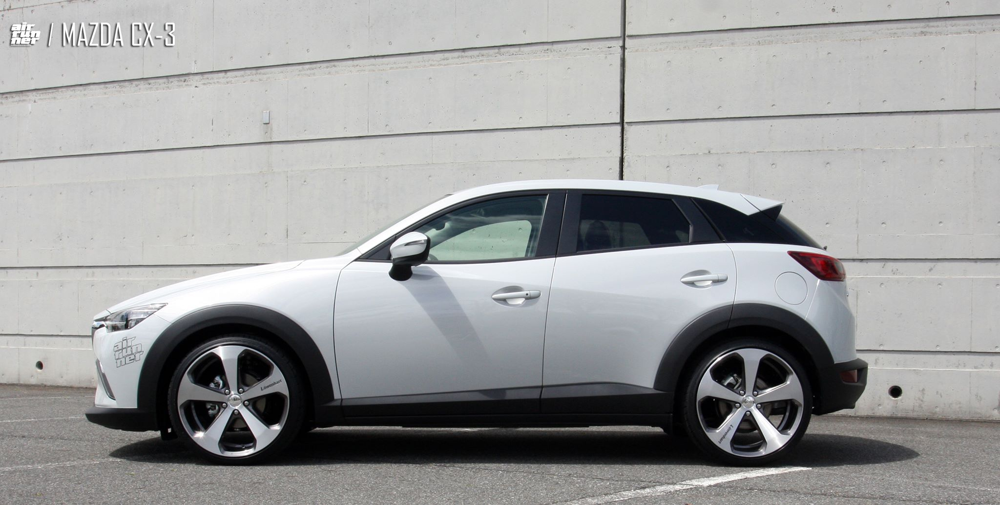 lowered cx-3 air runner on lowenhart lv5 wheels - mazda cx3 forum
