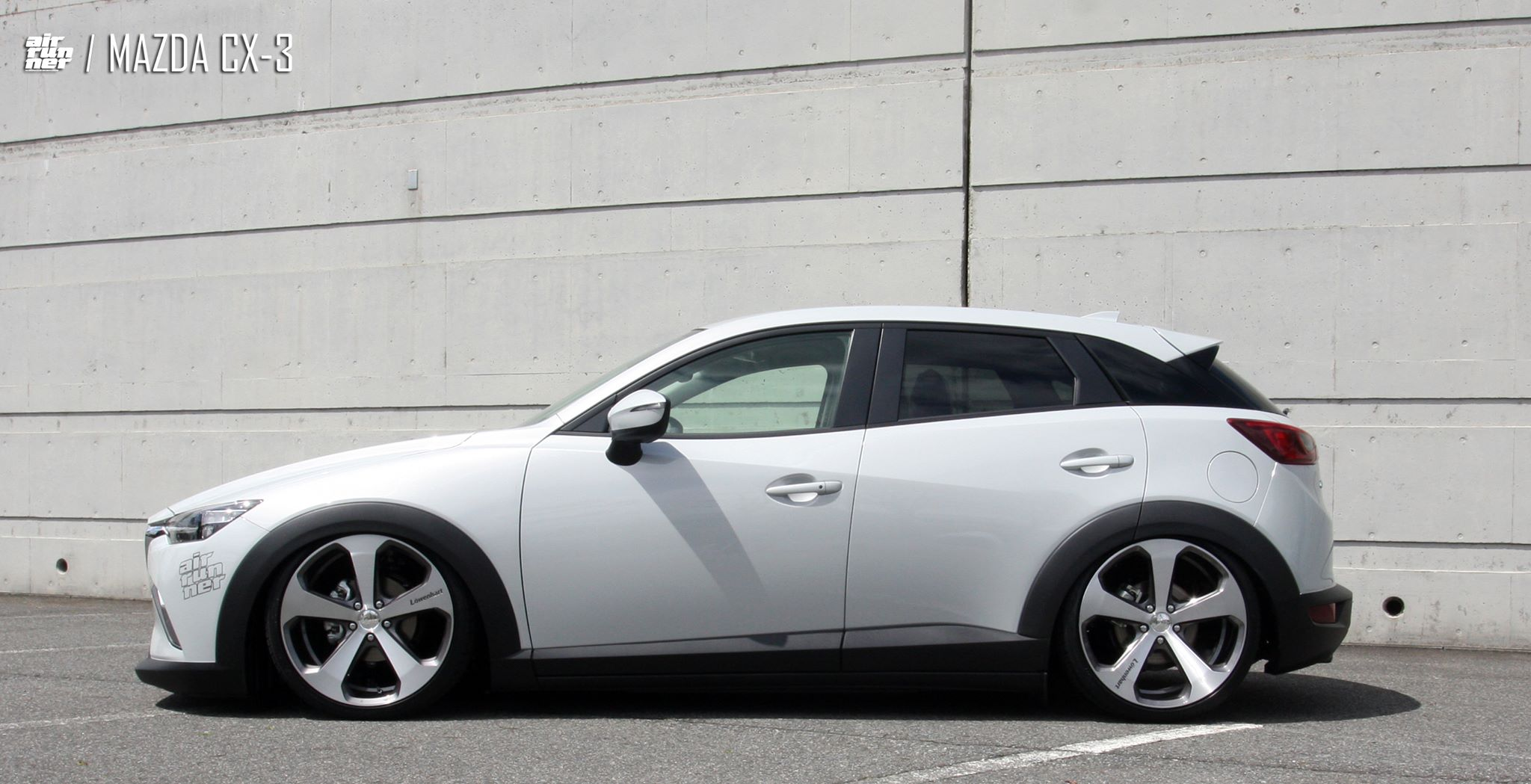 mazda cx 3 air runner lowered on lowenhart lv5 wheels. Black Bedroom Furniture Sets. Home Design Ideas