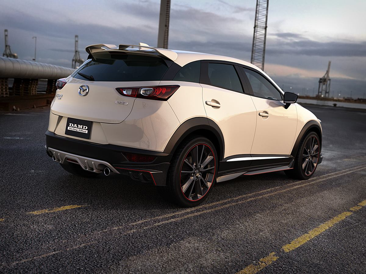 mazda cx 3 gets aggressive body kit from damd looks like nfs racer autoevolution. Black Bedroom Furniture Sets. Home Design Ideas