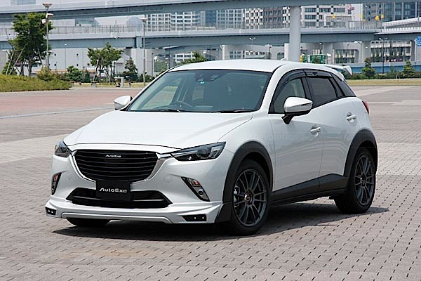 Mazda Cx 3 Tuned By Autoexe Looks Like A Track Ready Suv