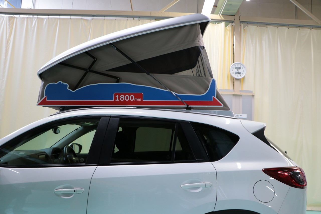 Mazda Cx 5 Gets Pop Up Camping Tent In Japan Autoevolution