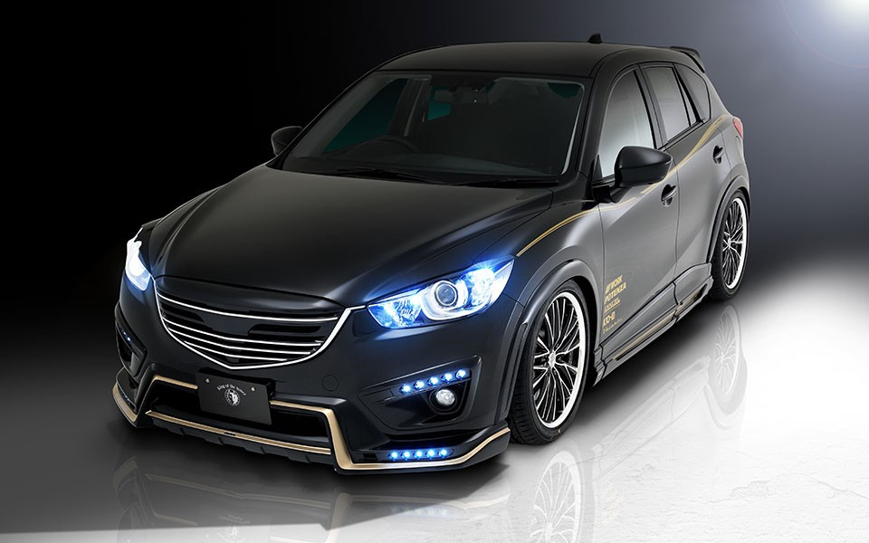 mazda cx 5 tuned by rowen japan has killer looks and exhaust autoevolution. Black Bedroom Furniture Sets. Home Design Ideas