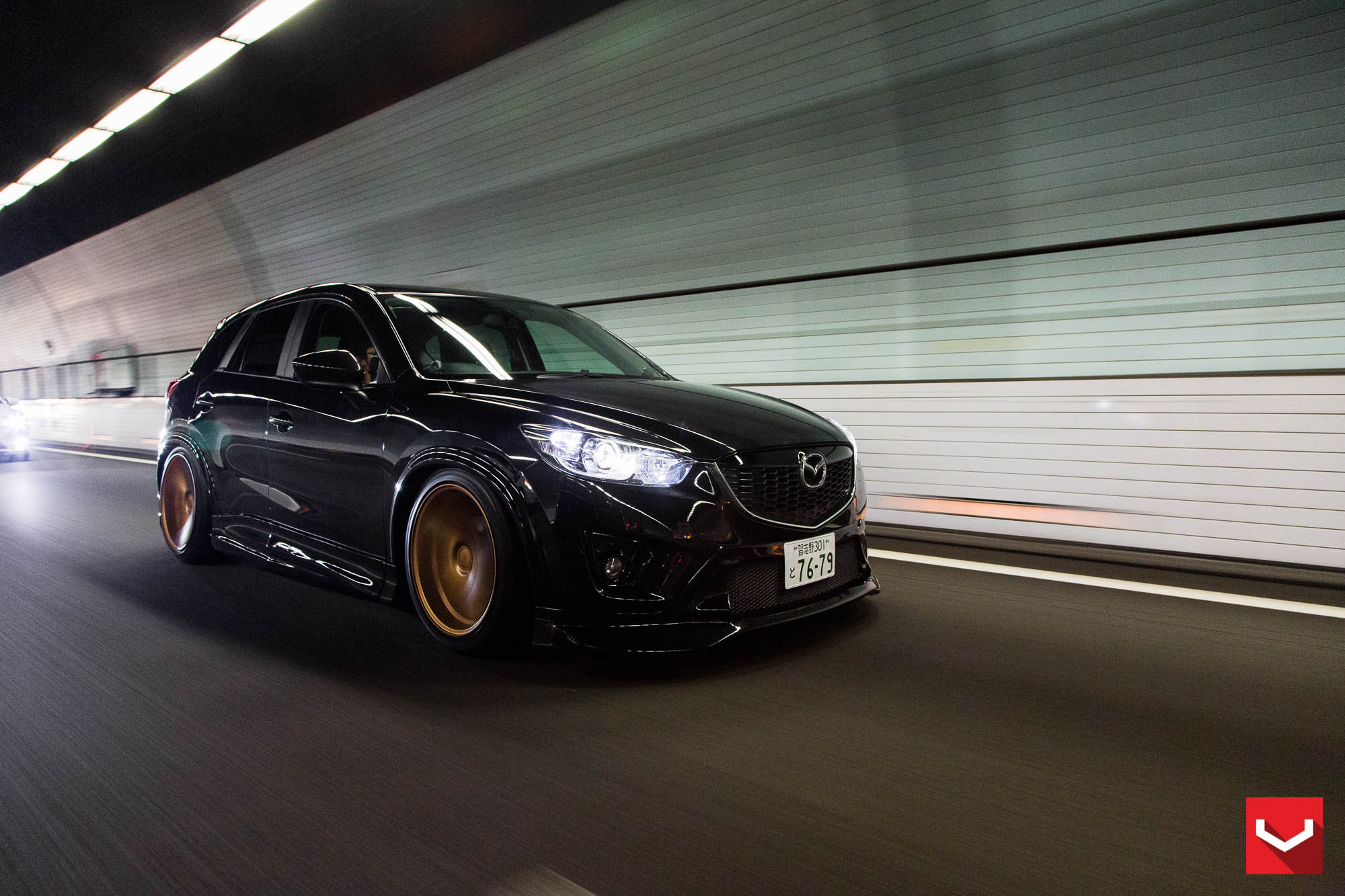 Mazda Cx Tuned With Vossen Wheels And Air Suspension Photo Gallery on Mazda 3 Sedan Home