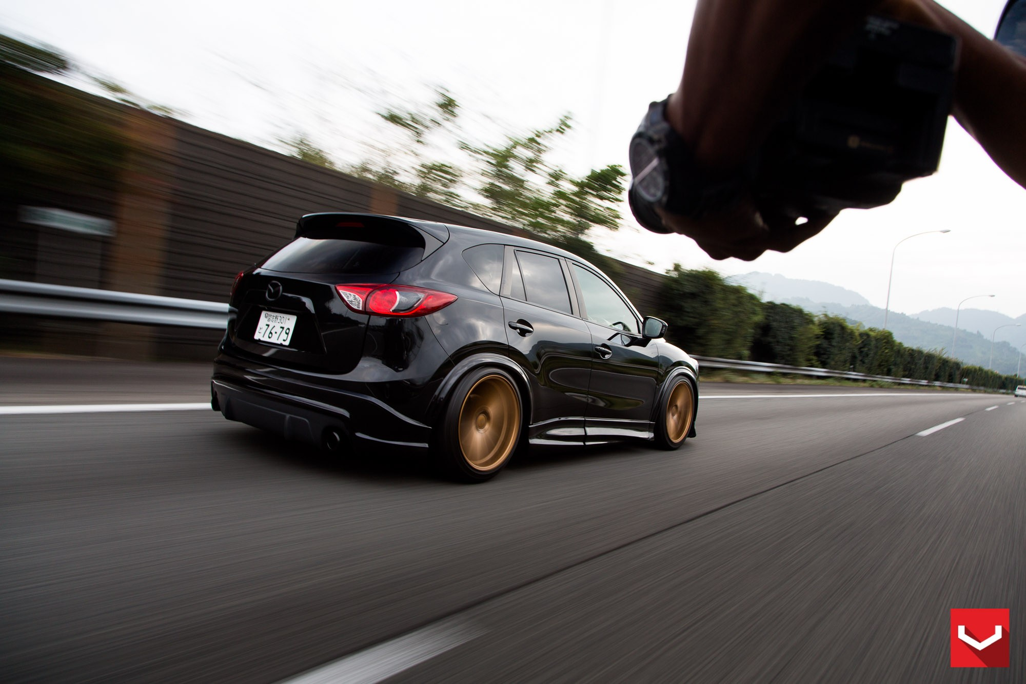 Mazda CX-5 Tuned with Vossen Wheels and Air Suspension ...