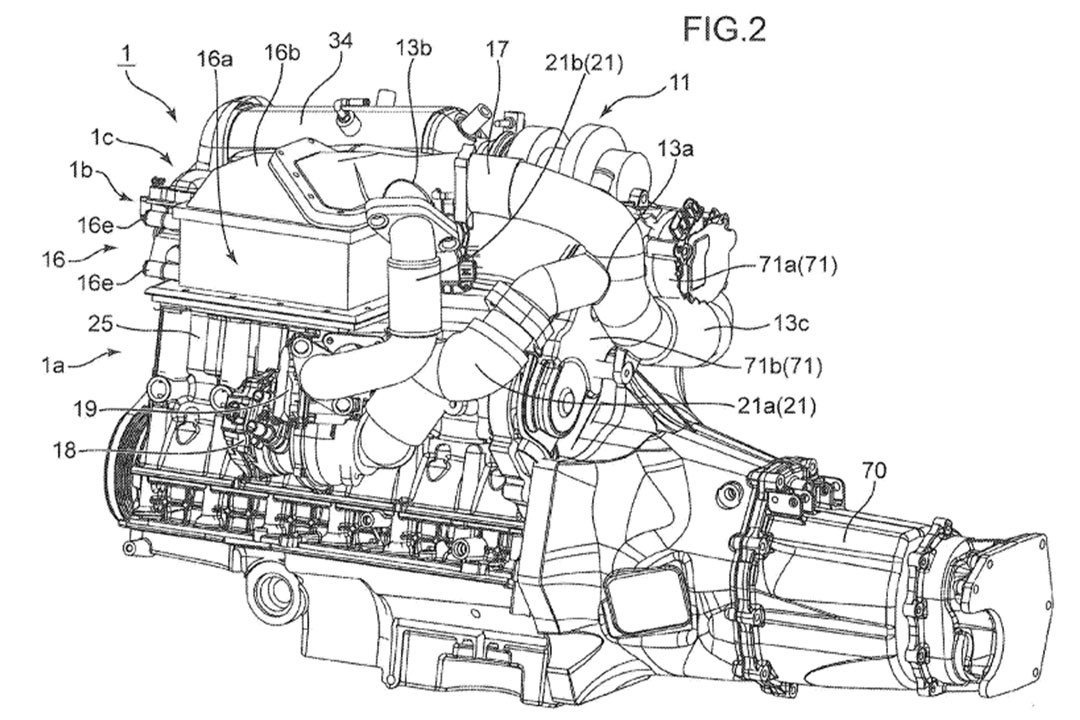 Mazda Files Patent For Bi Turbo Electric Supercharged