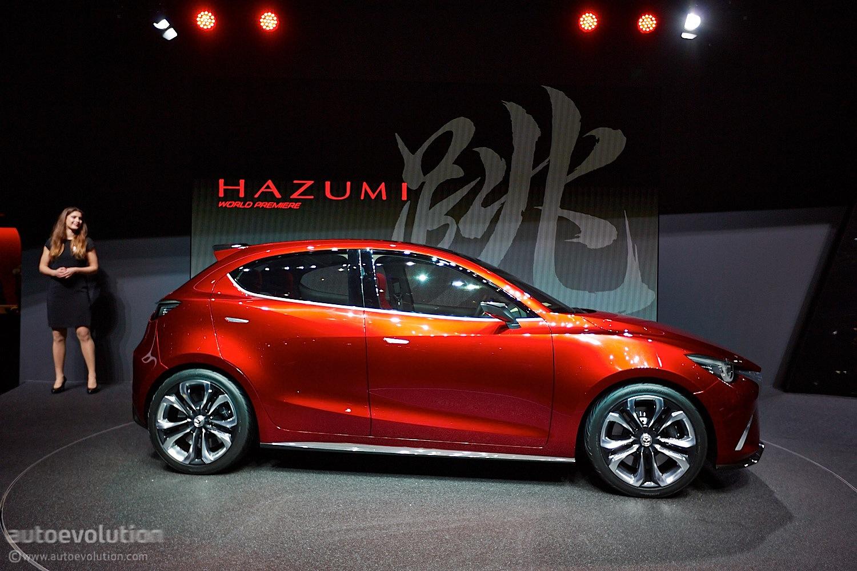 Mazda Hazumi Previews Sexy New 2 / Demio Supermini in Geneva [Live Photos] - autoevolution