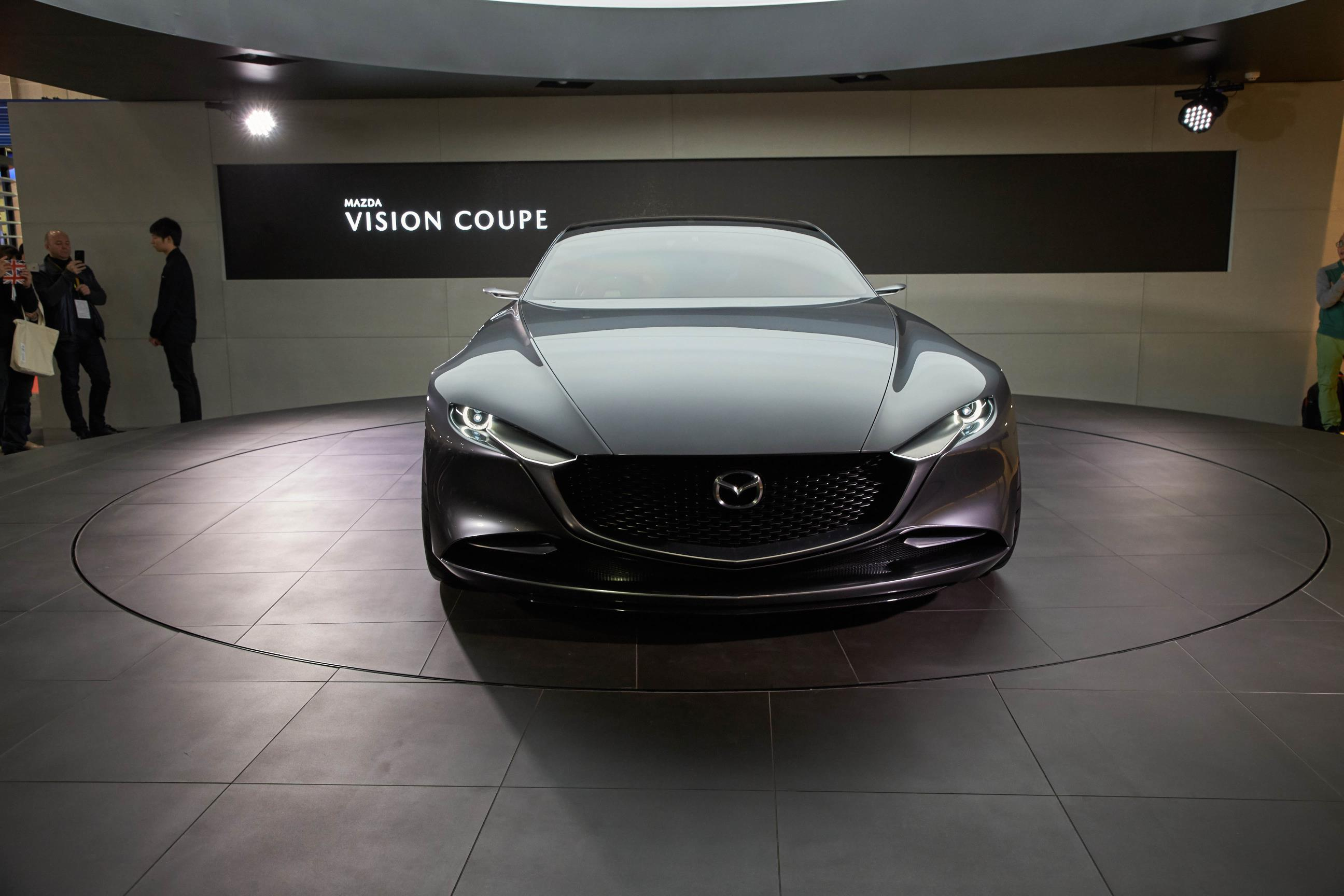 Mazda Kai And Vision Coupe Concepts Reveal Carbon Fiber In Tokyo