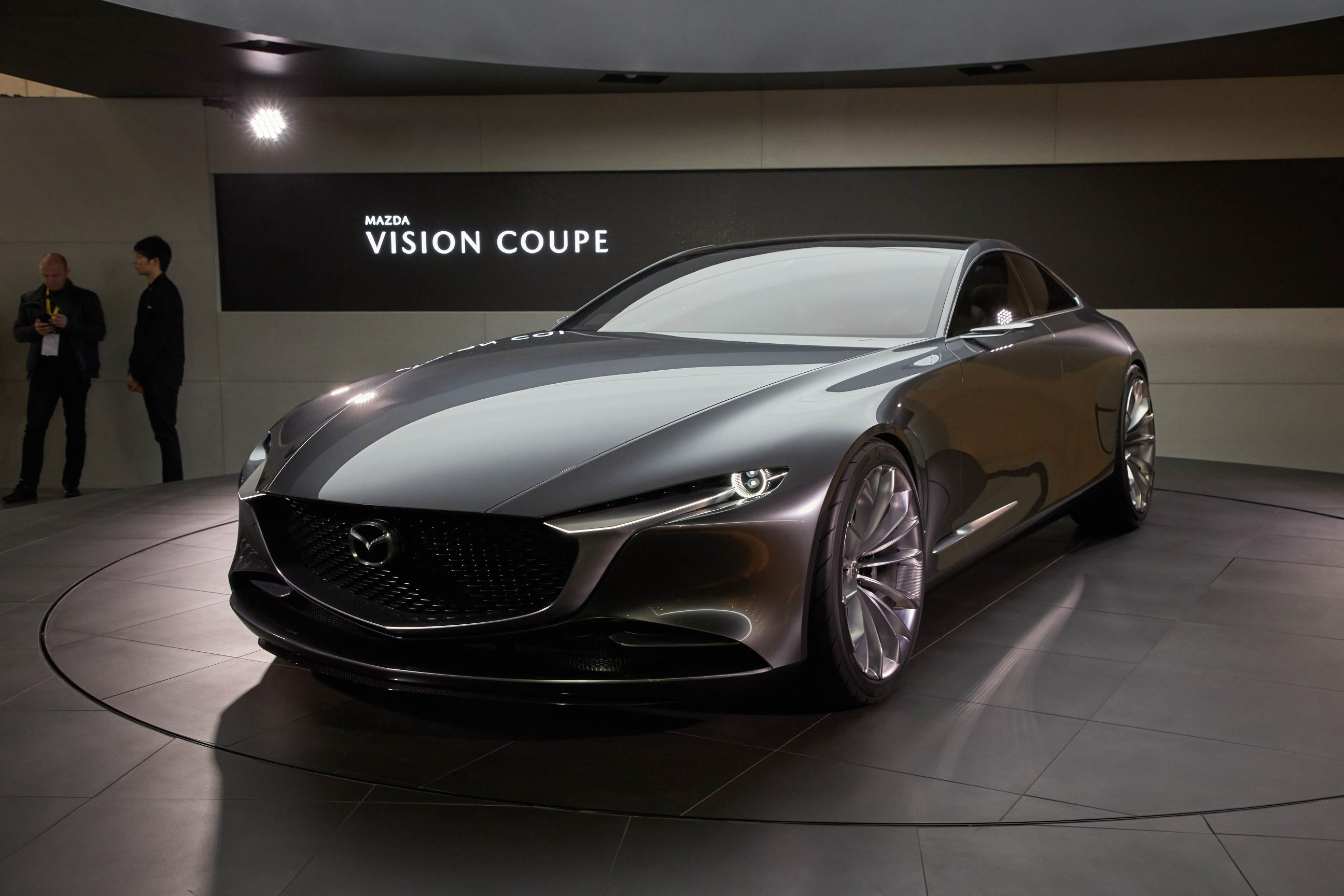 Mazda Kai And Vision Coupe Concepts Reveal Carbon Fiber In