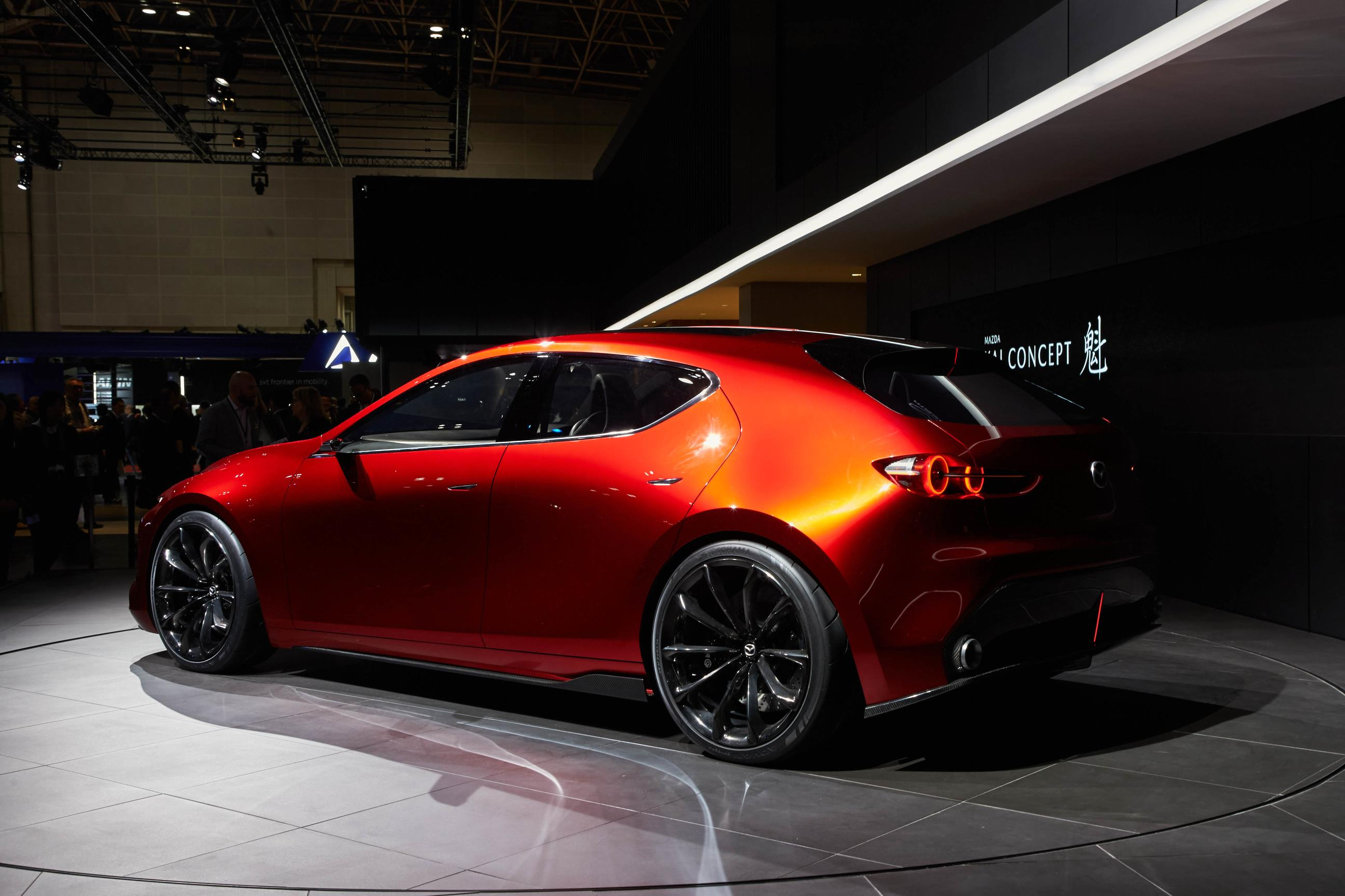 8e0bff5668 ... Mazda Kai and Vision Coupe Concepts Reveal Carbon Fiber in Tokyo ...