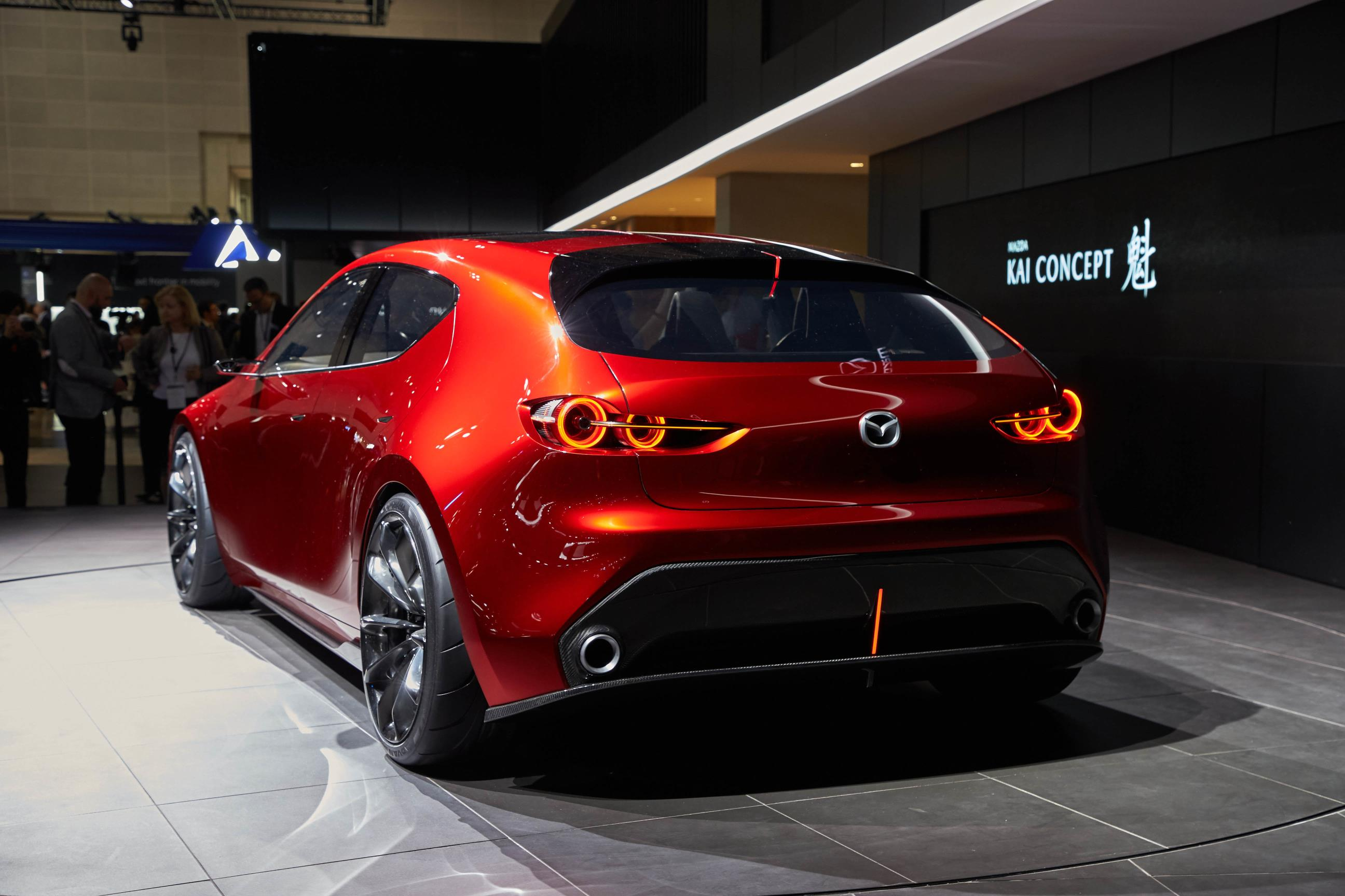 mazda kai and vision coupe concepts reveal carbon fiber in tokyo autoevolution. Black Bedroom Furniture Sets. Home Design Ideas