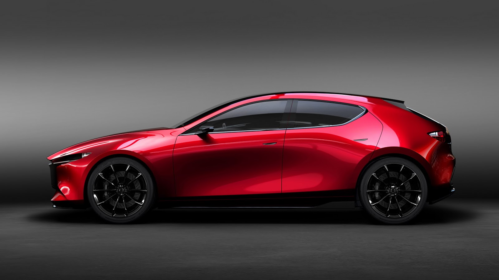 mazda kai concept is the sexy mazda3 preview we were hoping for autoevolution. Black Bedroom Furniture Sets. Home Design Ideas