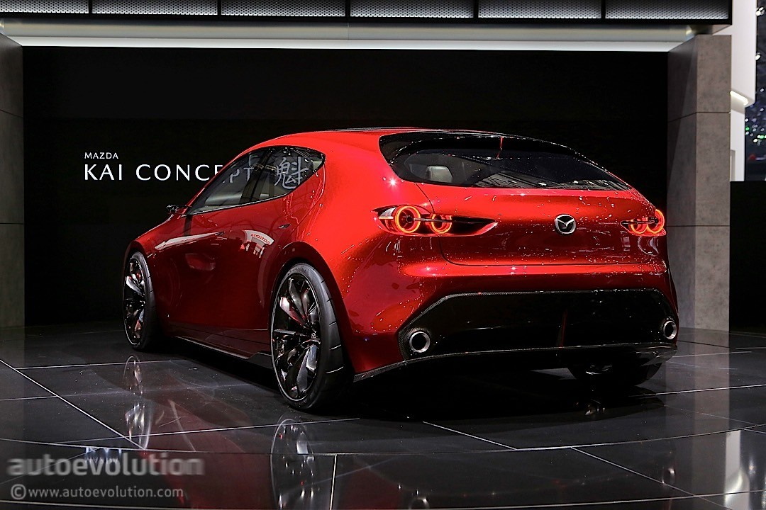 Mazda Kai Concept Makes European Debut In Geneva Still Looks