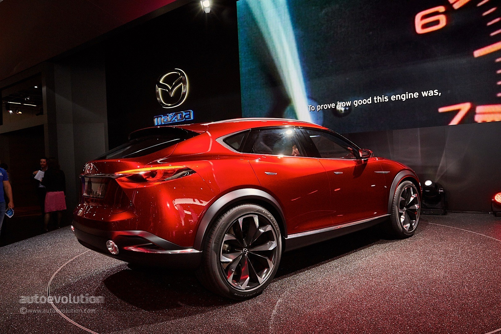 mazda koeru concept prototype spied could be a coupe ified cx 5 photo gallery autoevolution. Black Bedroom Furniture Sets. Home Design Ideas