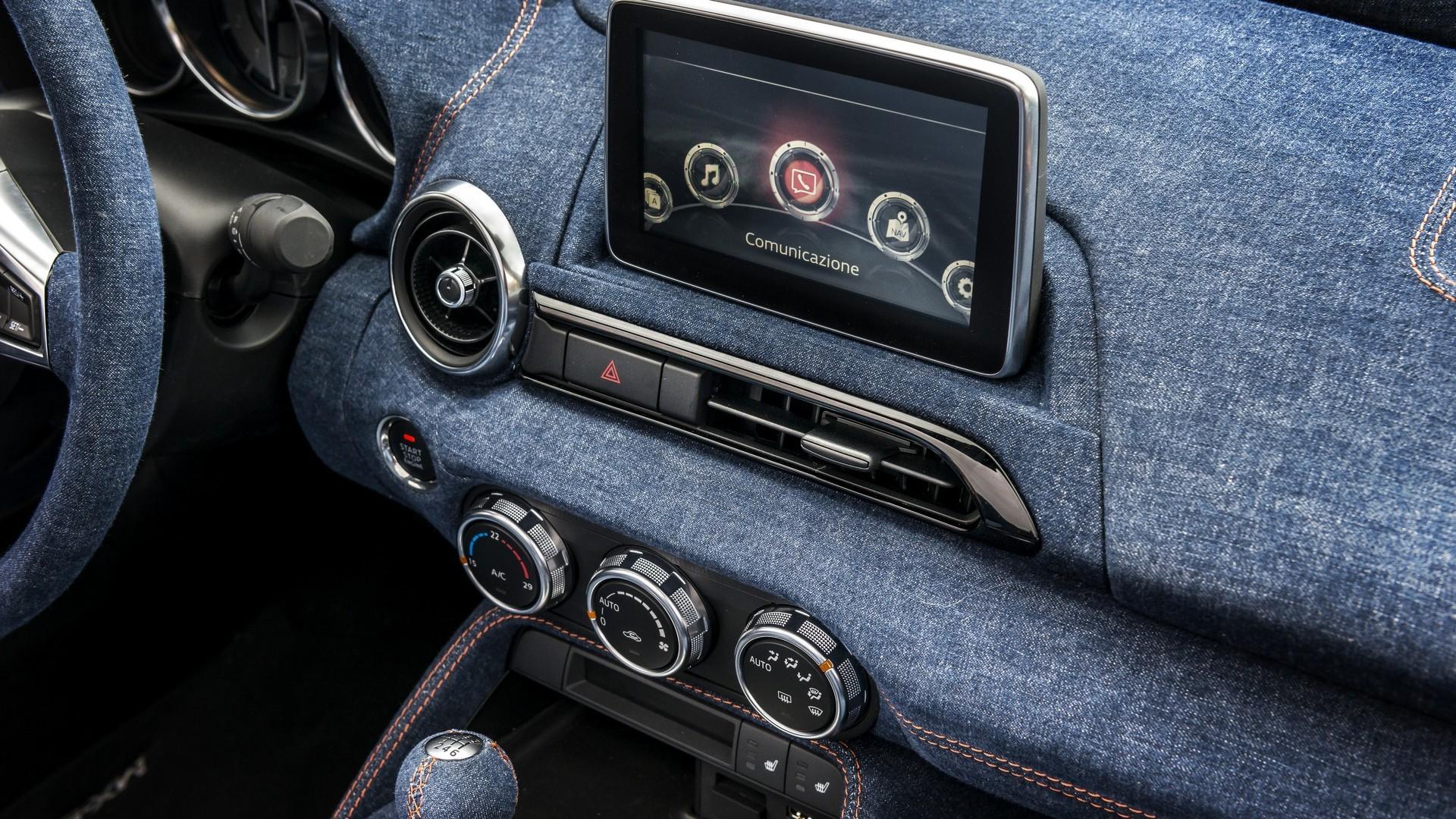 Mazda 3 2015 Interior >> Mazda MX-5 Gets Denim Interior From Garage Italia Customs, Result Called Levanto - autoevolution