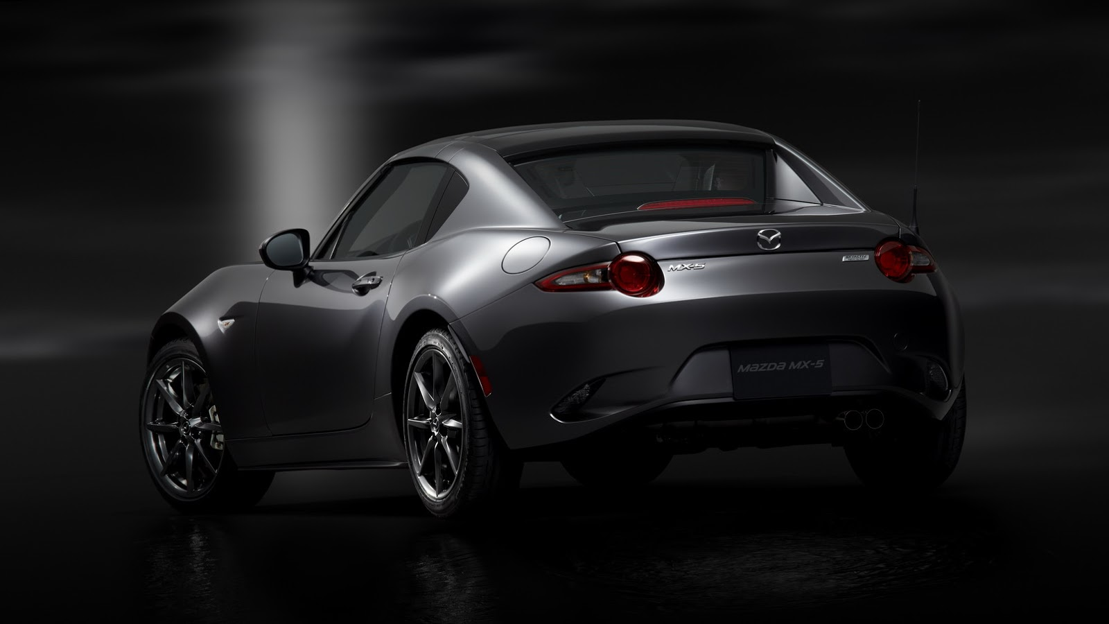 mazda mx 5 rf retractable fastback is just as cool as a. Black Bedroom Furniture Sets. Home Design Ideas