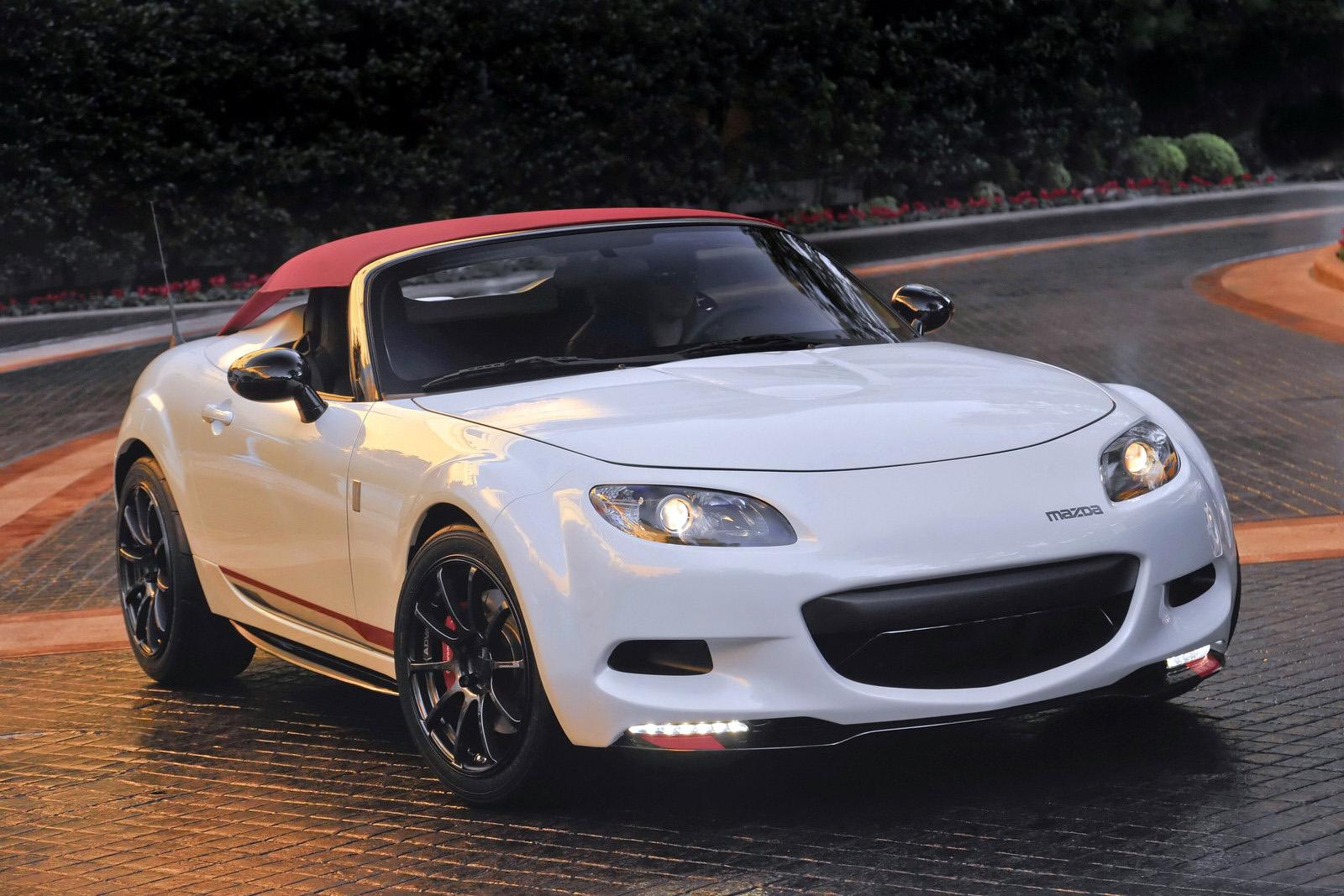 Mazda Mx 5 Spyder Debuts At 2011 Sema Autoevolution