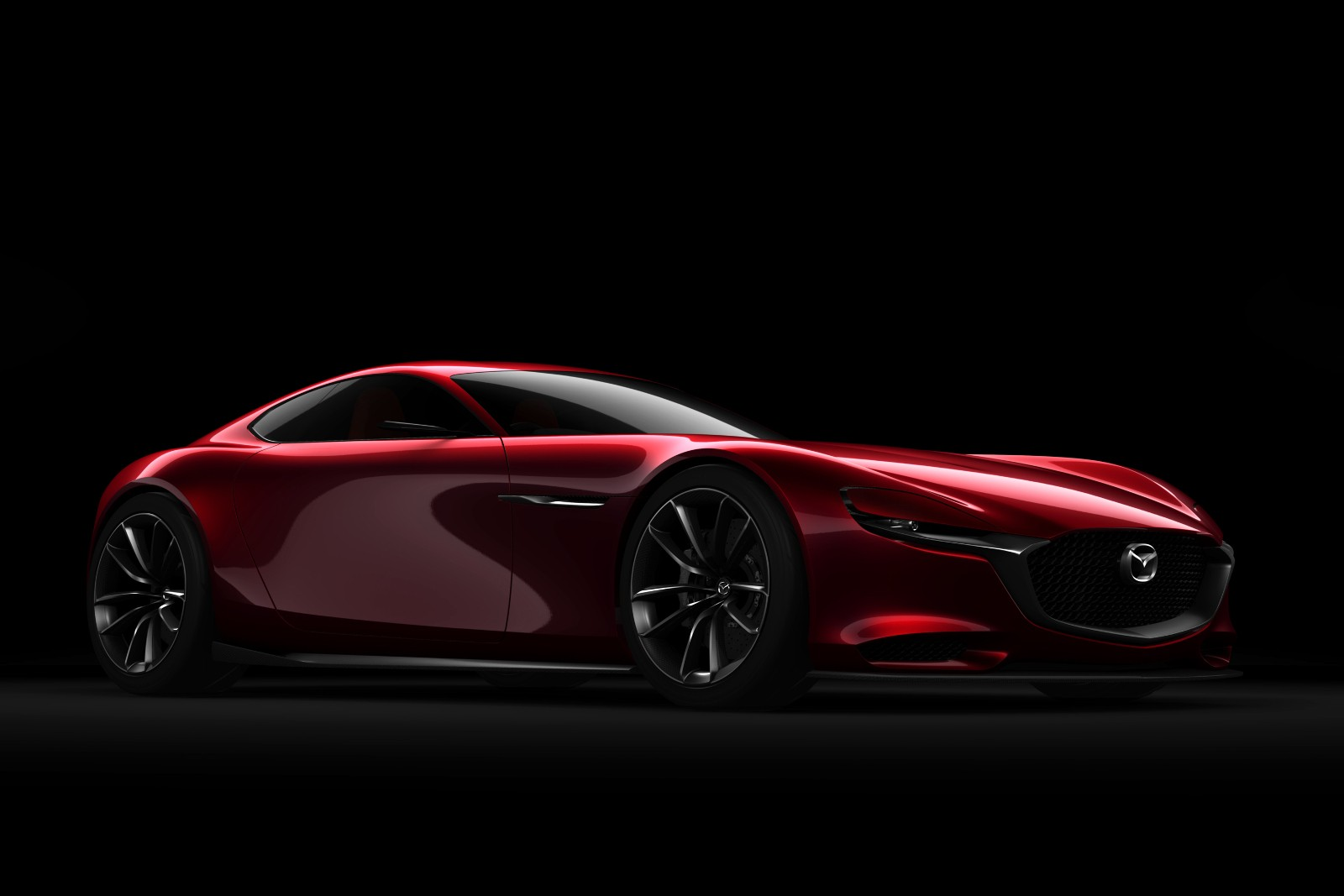 mazda is committed to skyactiv-r engine and rx-9 rotary sports car