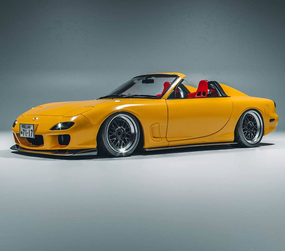 Mazda RX-7 Speedster Looks Like A Piece Of Heaven