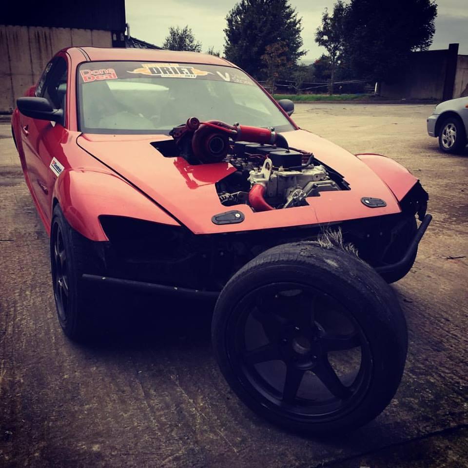 Mazda Rx Sel Drift Car