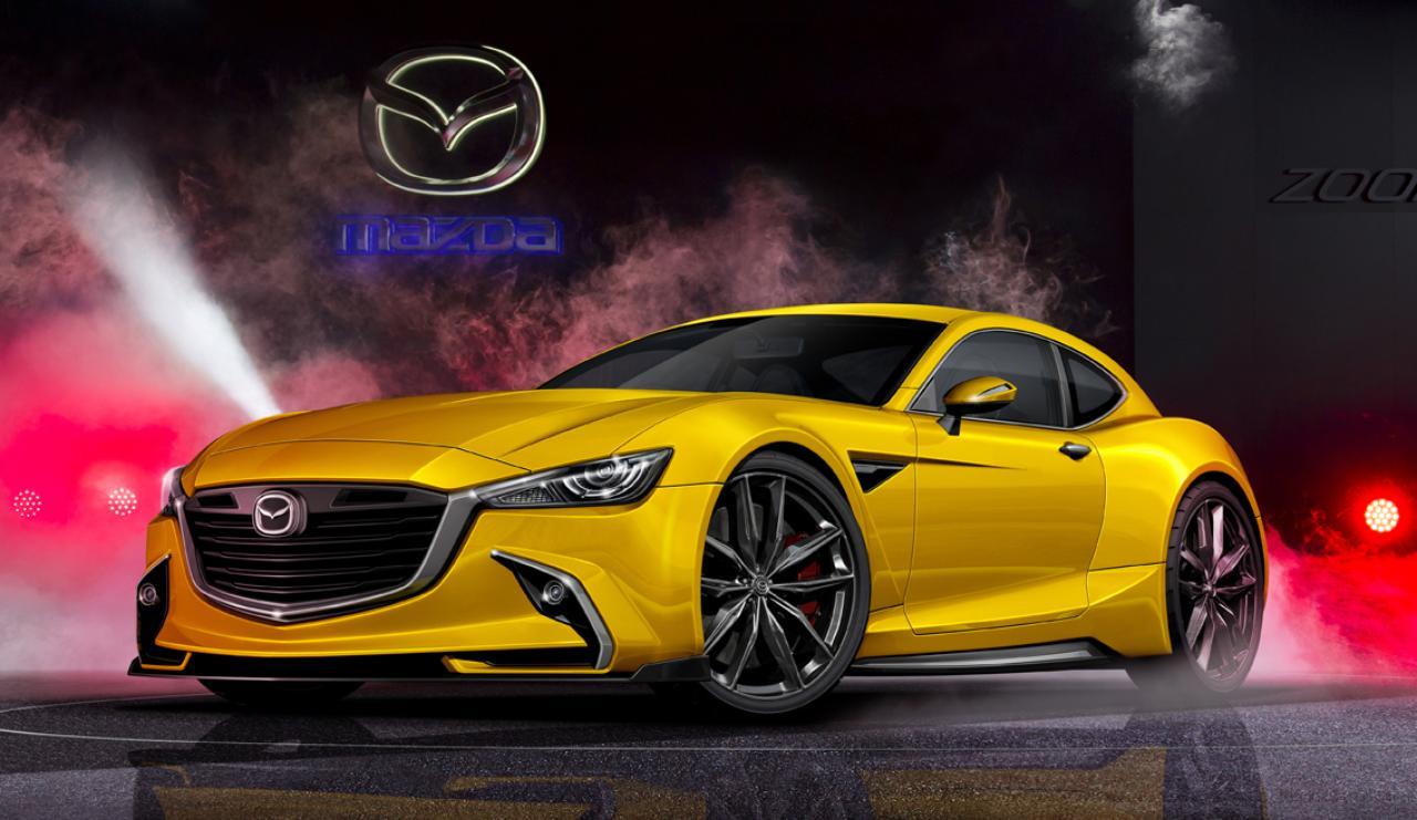 Mazda Rx 9 Will Go Hybrid Sources Say Autoevolution