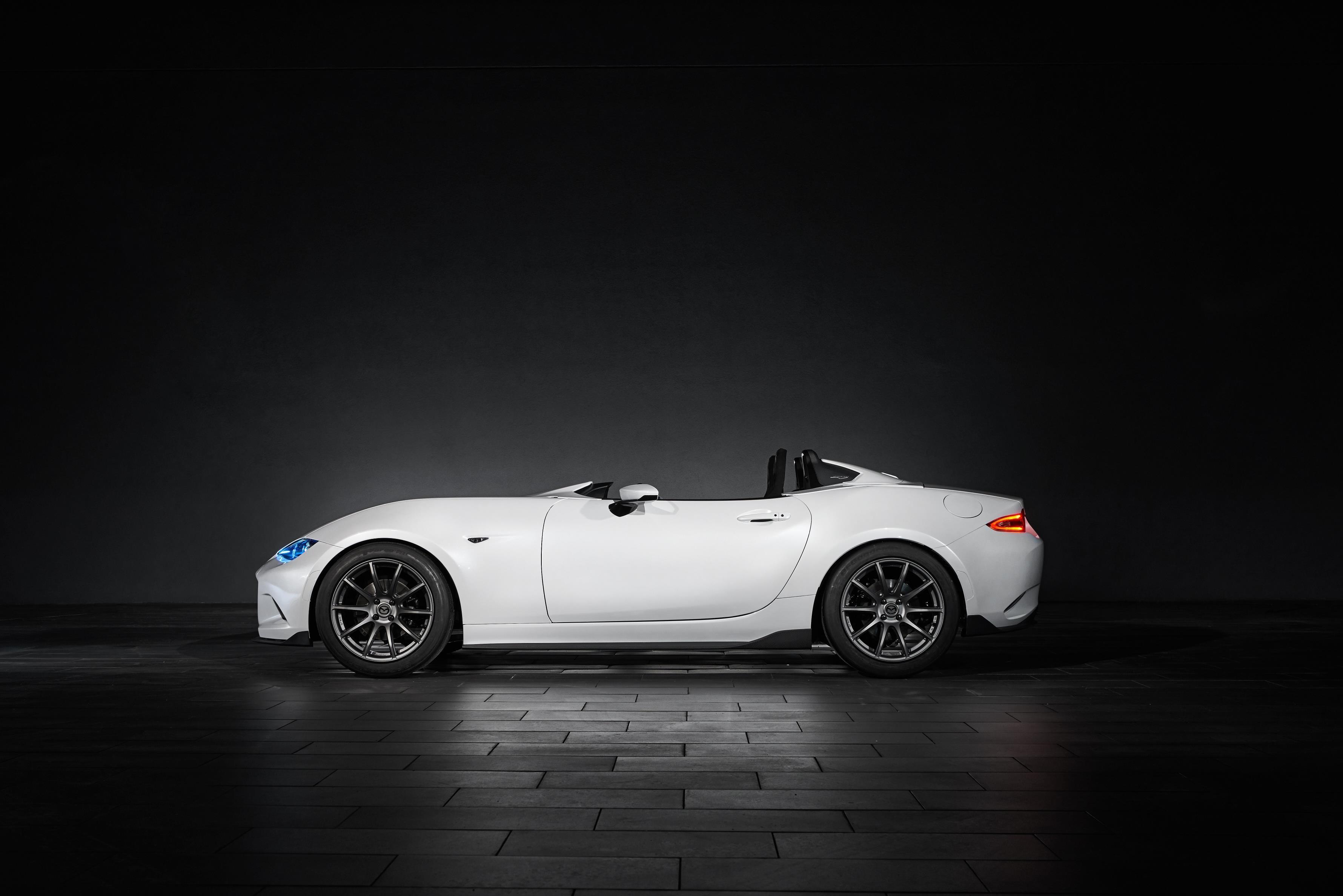 Mazda Unveils SEMA-bound MX-5 Speedster Evolution and MX-5 ...