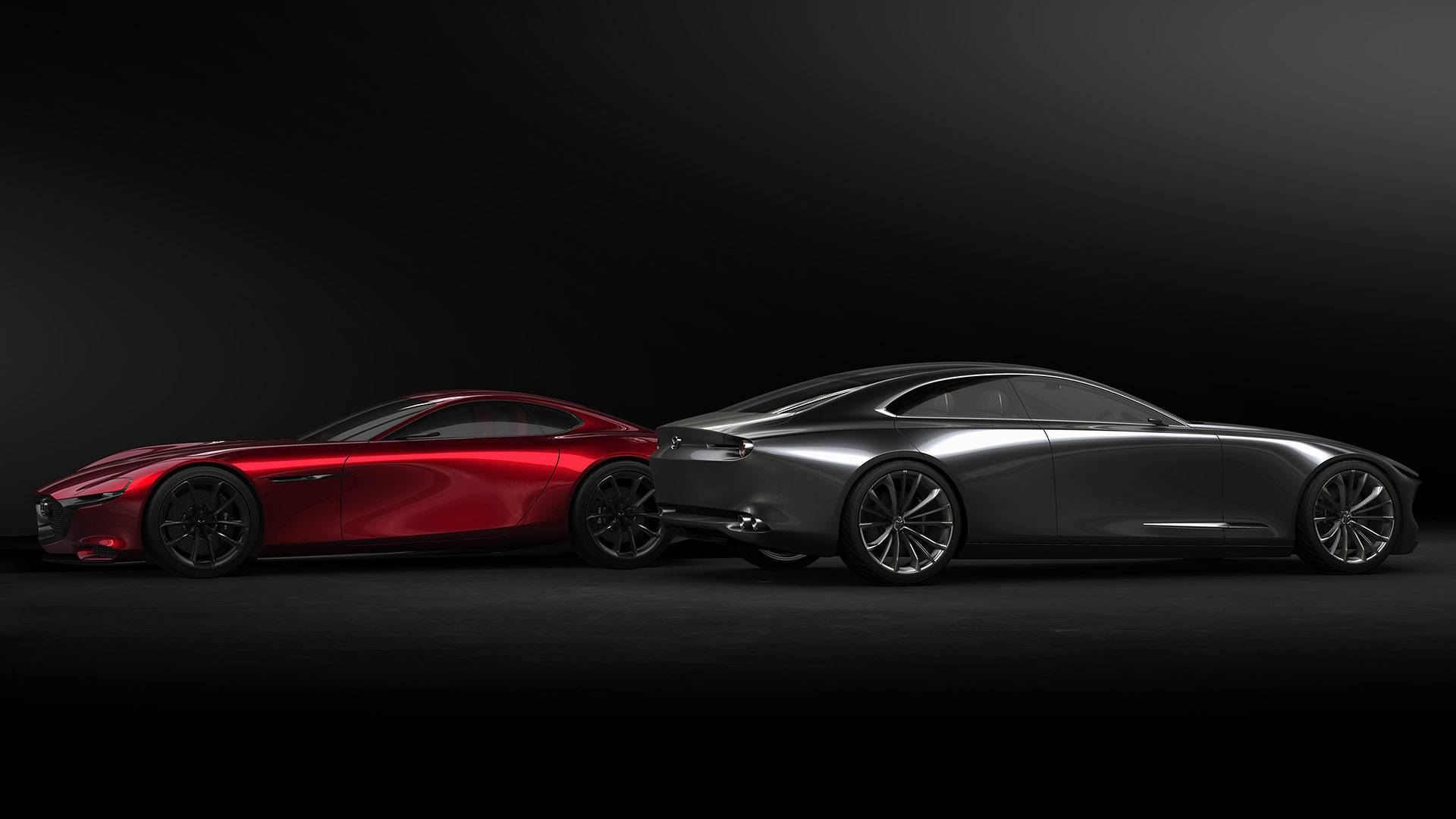 mazda vision coupe concept takes kodo soul of motion design to