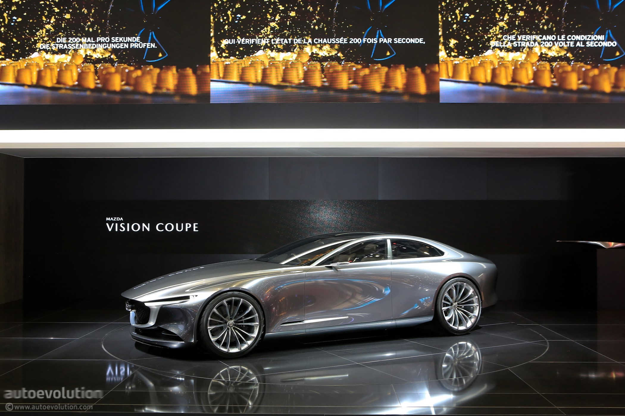 Mazda Vision Coupe Makes European Debut In Geneva Looks Stunning