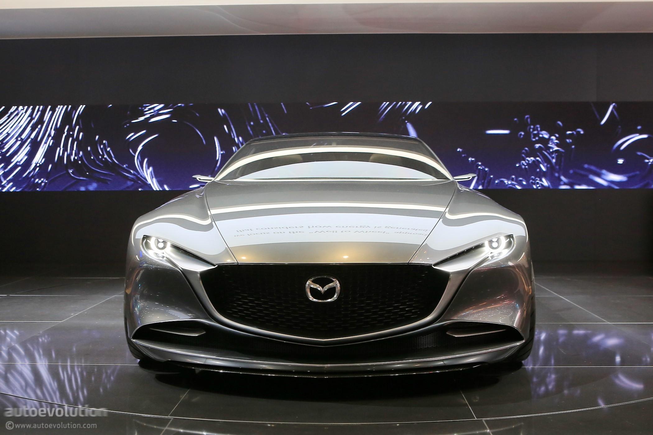 Mazda Vision Coupe Makes European Debut In Geneva Looks