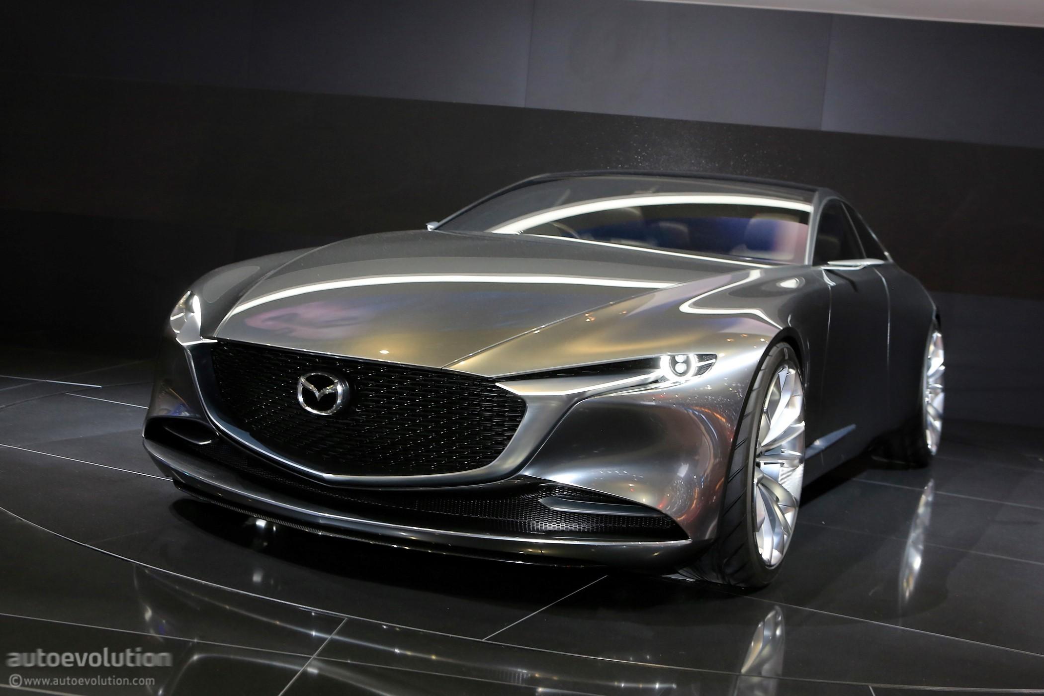 Mazda Vision Coupe Makes European Debut In Geneva, Looks ...
