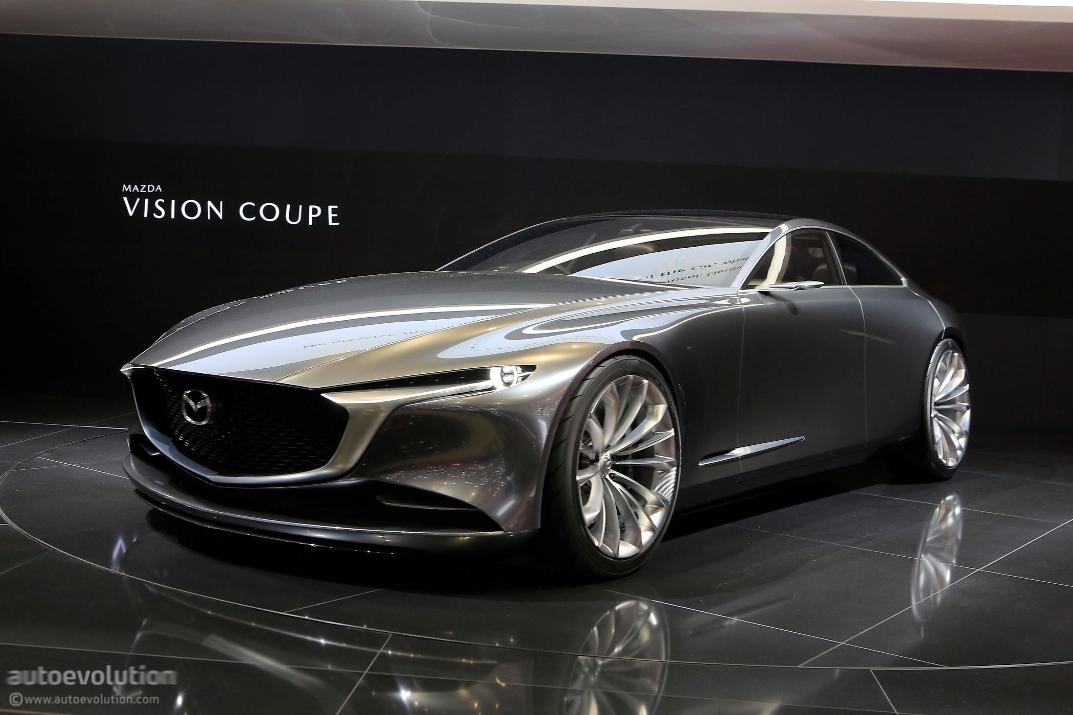 2018 Mazda Rx7 >> Mazda Vision Coupe Makes European Debut In Geneva, Looks Stunning - autoevolution