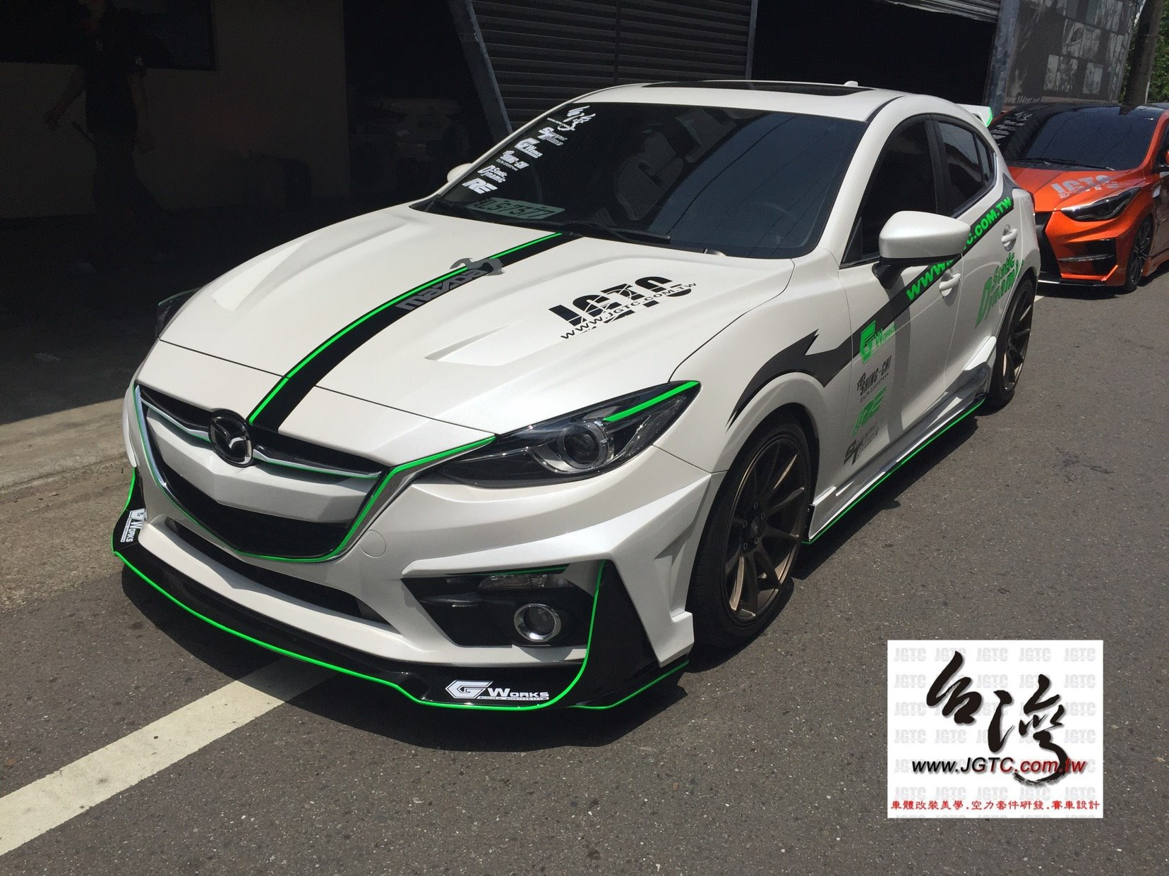 Mazda3 Gets Awesome Widebody Kit In Taiwan Autoevolution