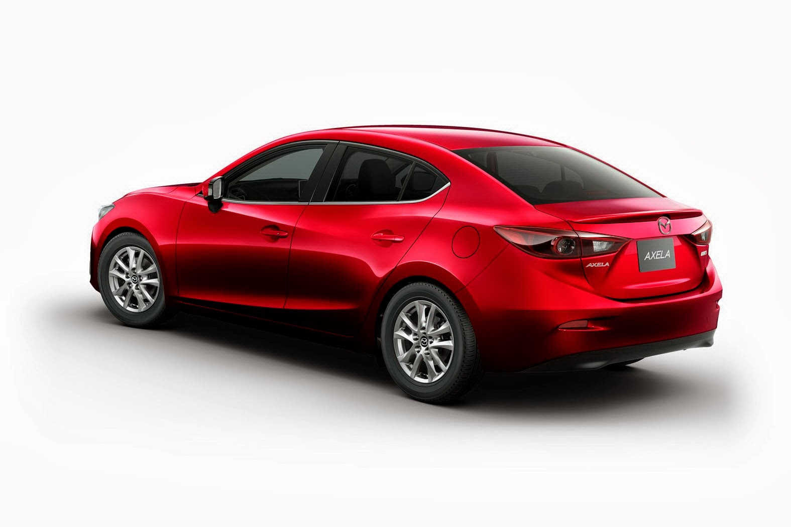 mazda3 goes hybrid as japanese axela model autoevolution. Black Bedroom Furniture Sets. Home Design Ideas