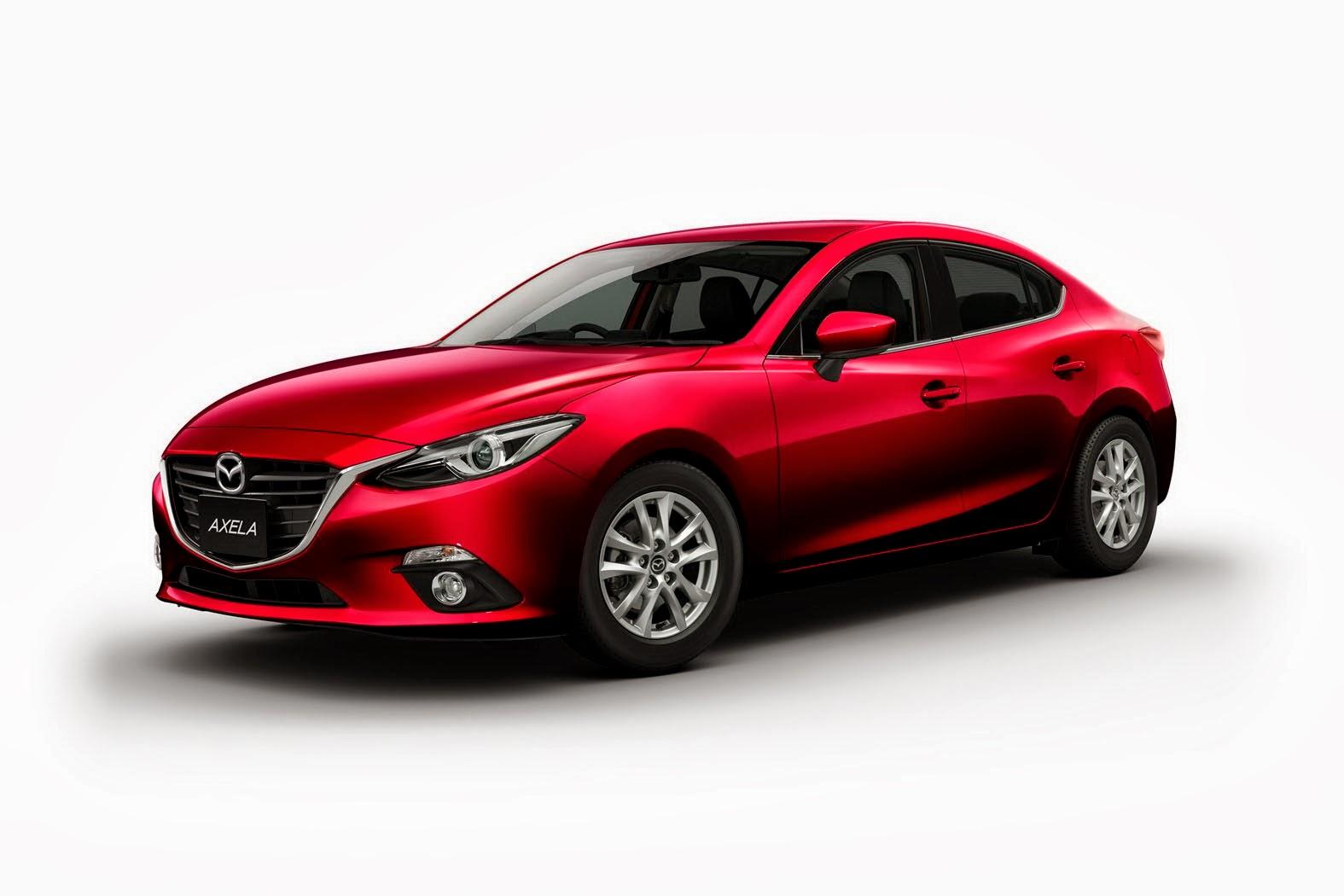 Mazda3 Goes Hybrid as Japanese Axela Model - autoevolution