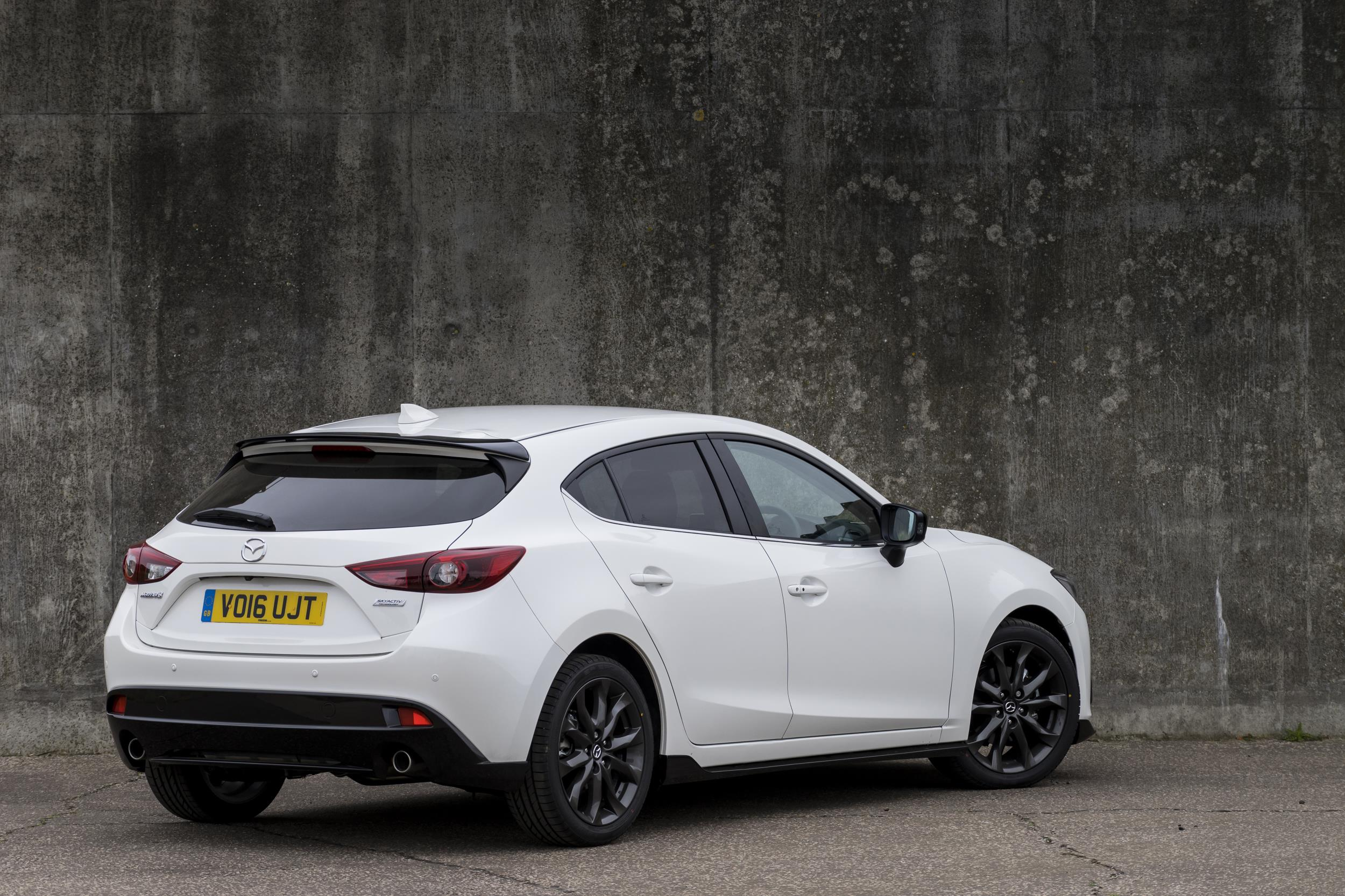 mazda3 sport black special edition goes on sale with body kit 120