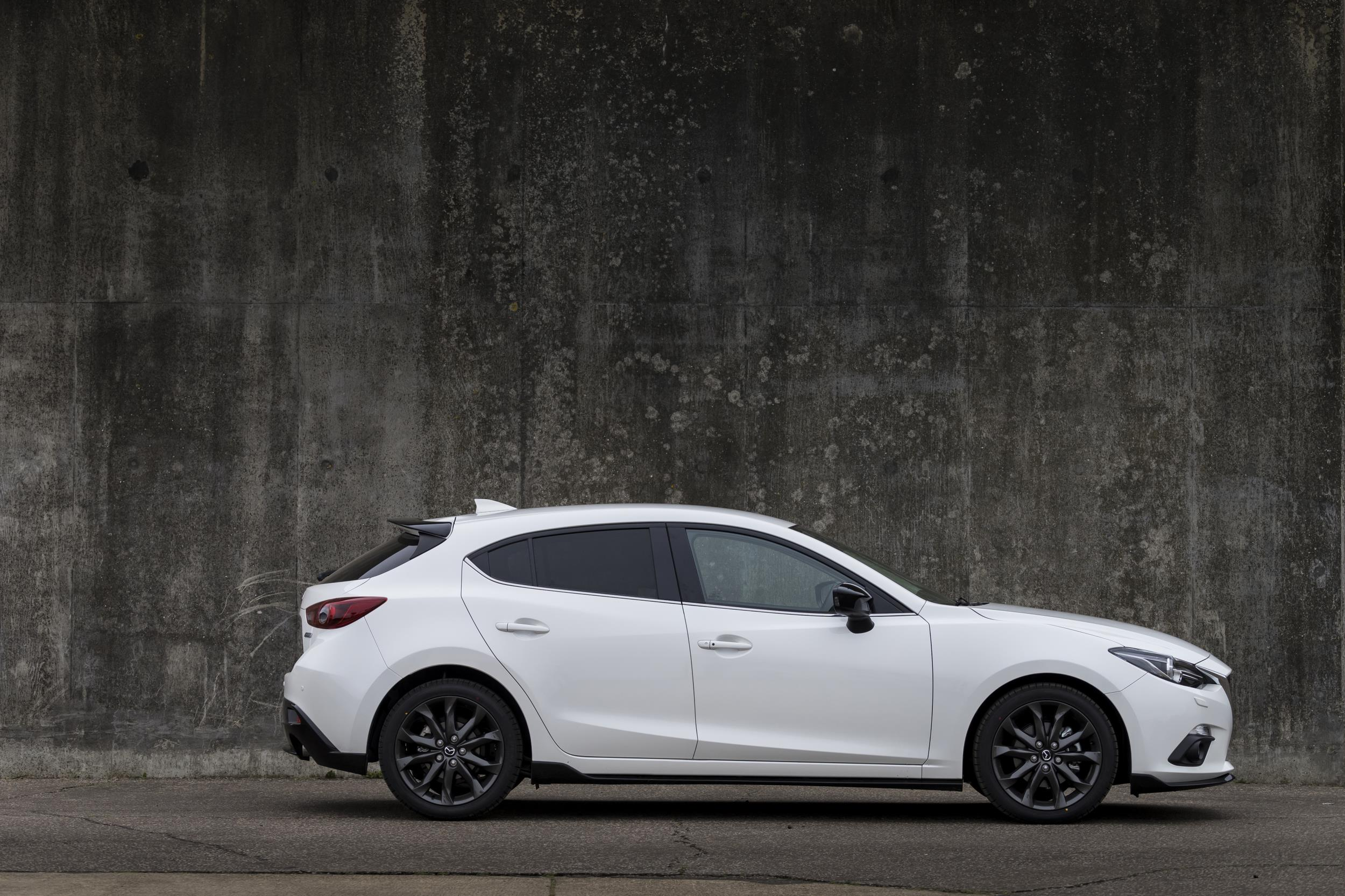 Mazda3 Sport Black Special Edition Goes on Sale with Body Kit, 120 ...
