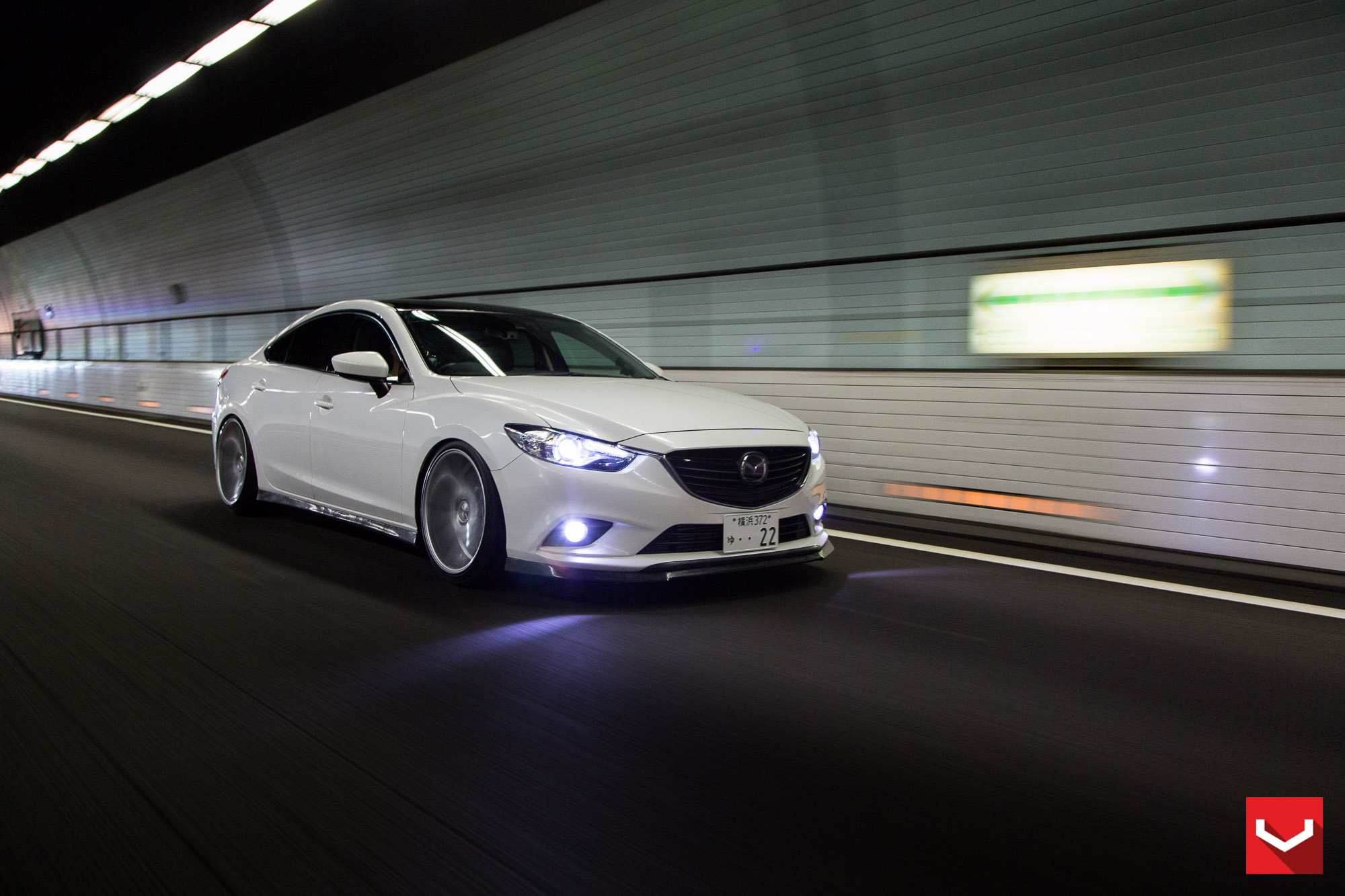 ... Mazda6 Gets Custom Vossen Wheels And Carbon Fiber Trim ...