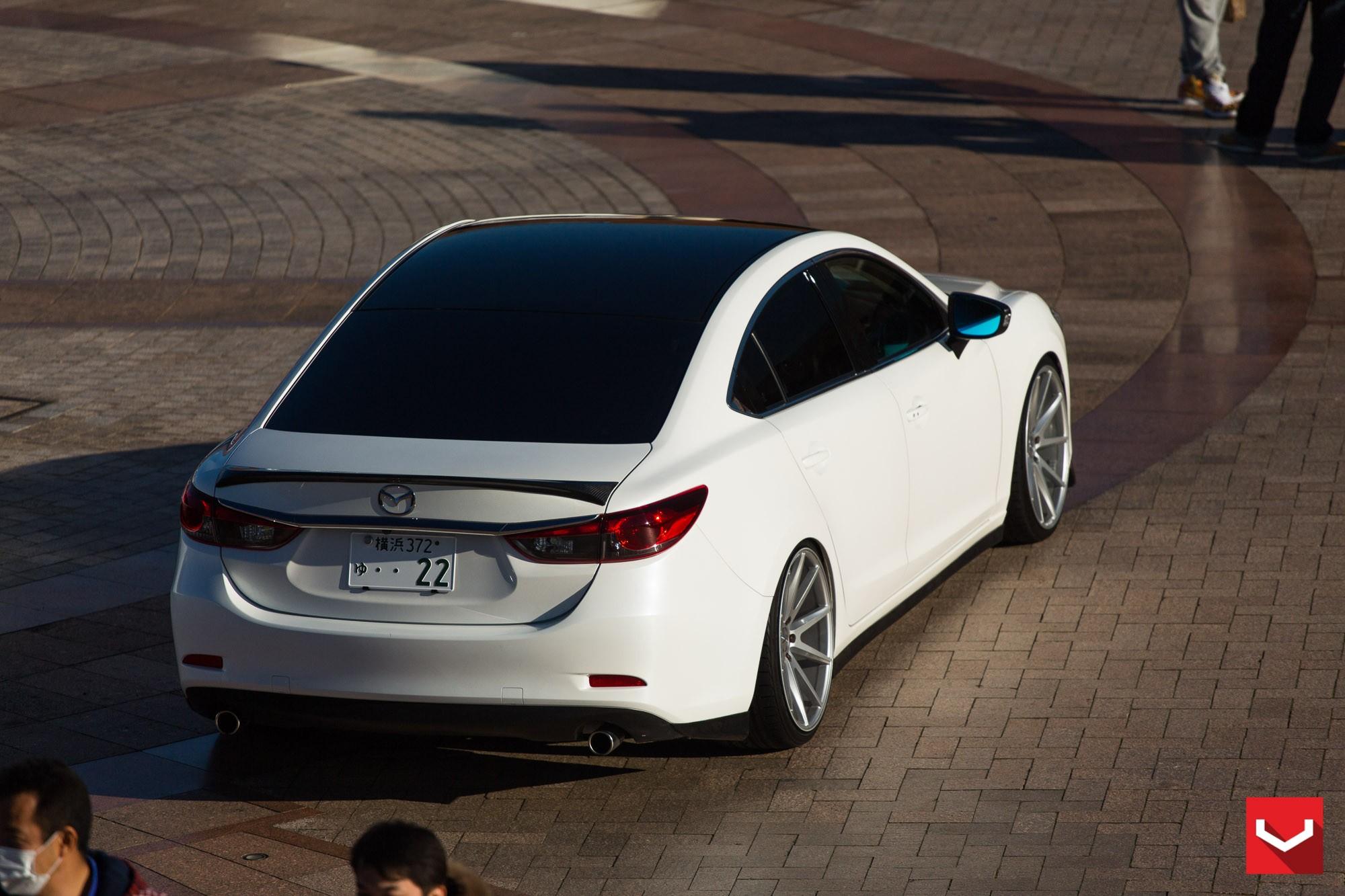 Mazda6 Gets Custom Vossen Wheels and Carbon Fiber Trim