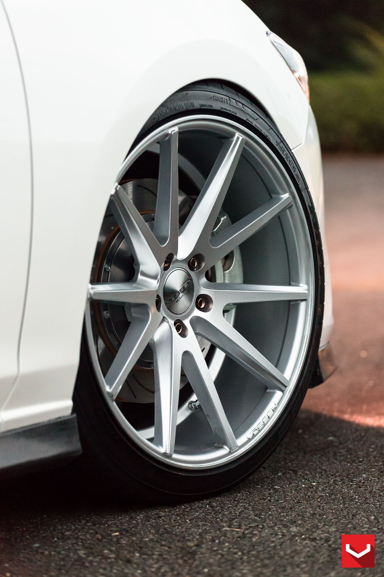 Mazda6 Gets Custom Vossen Wheels and Carbon Fiber Trim ...