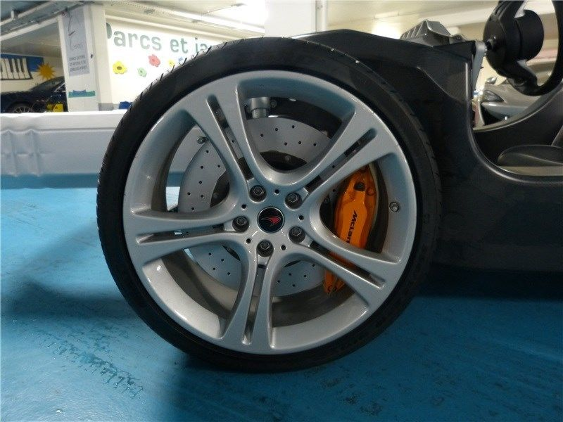 Mclaren 12c Rolling Chassis Up For Sale Engine Amp Steering