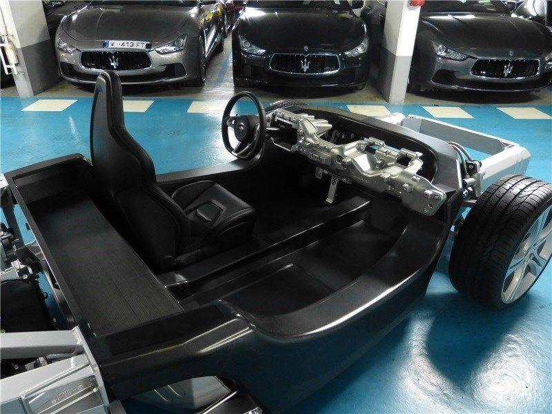 Mclaren 12c Rolling Chassis Up For Sale Engine Steering Wheel