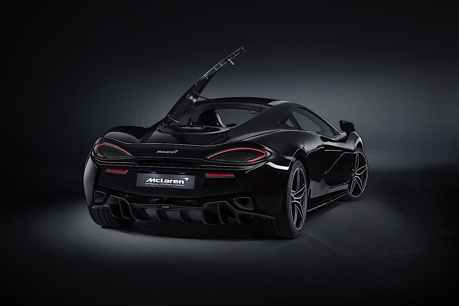 MSO Goes Carbon Black With Sinister McLaren 570GT Special