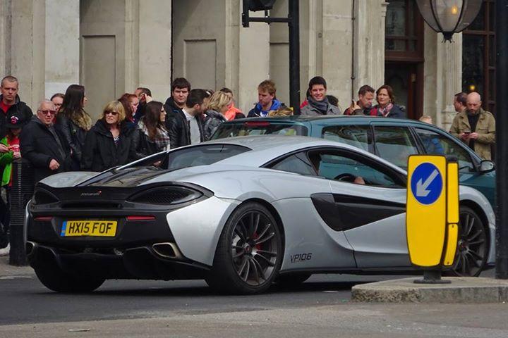 Mclaren 570s Already Spotted In London Autoevolution