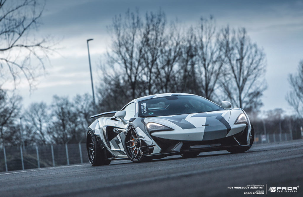 Mclaren 570s Looks Menacing With Prior Design Widebody Kit Autoevolution