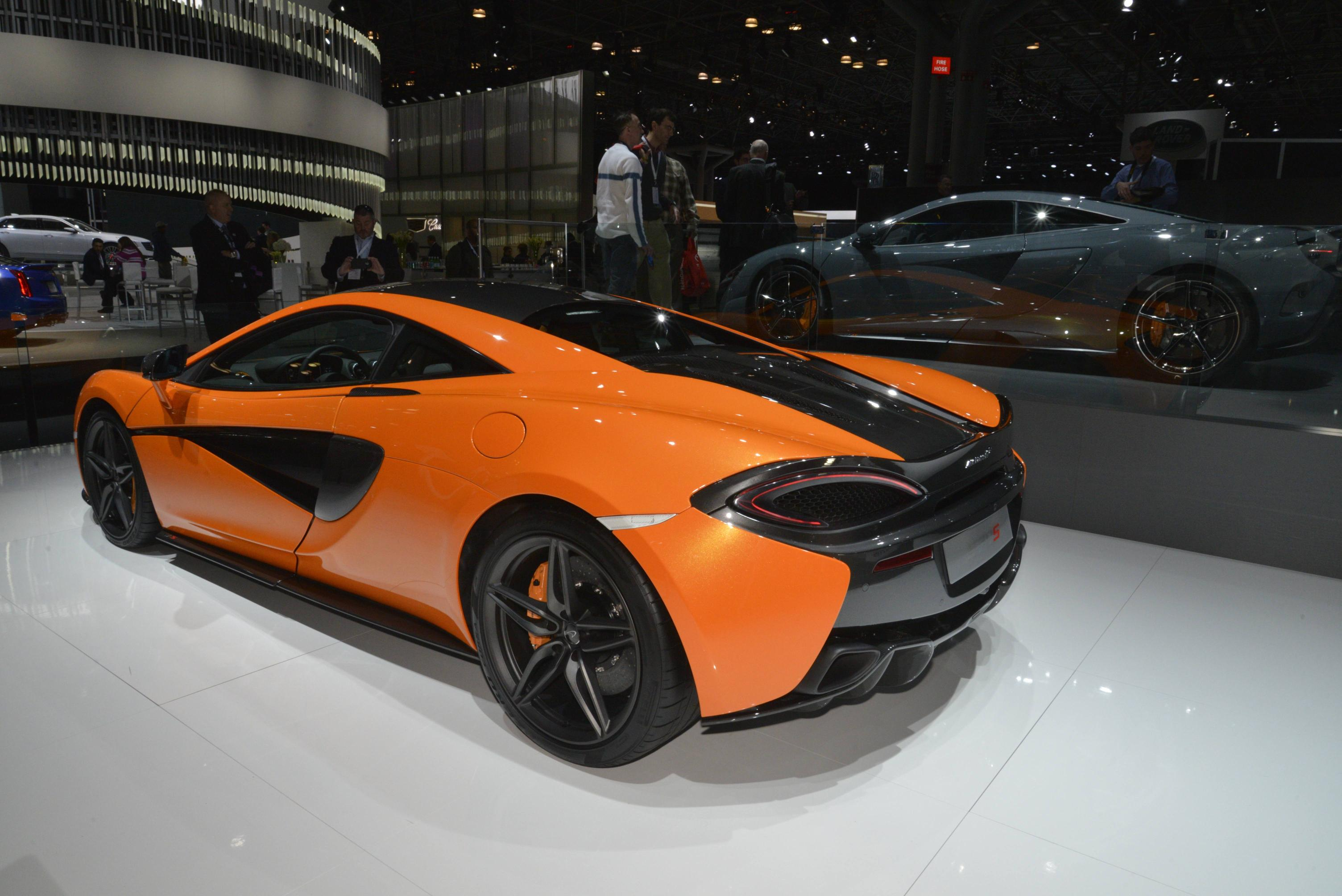 mclaren 570s pricing: $184,900 in the us, £143,250 in the uk
