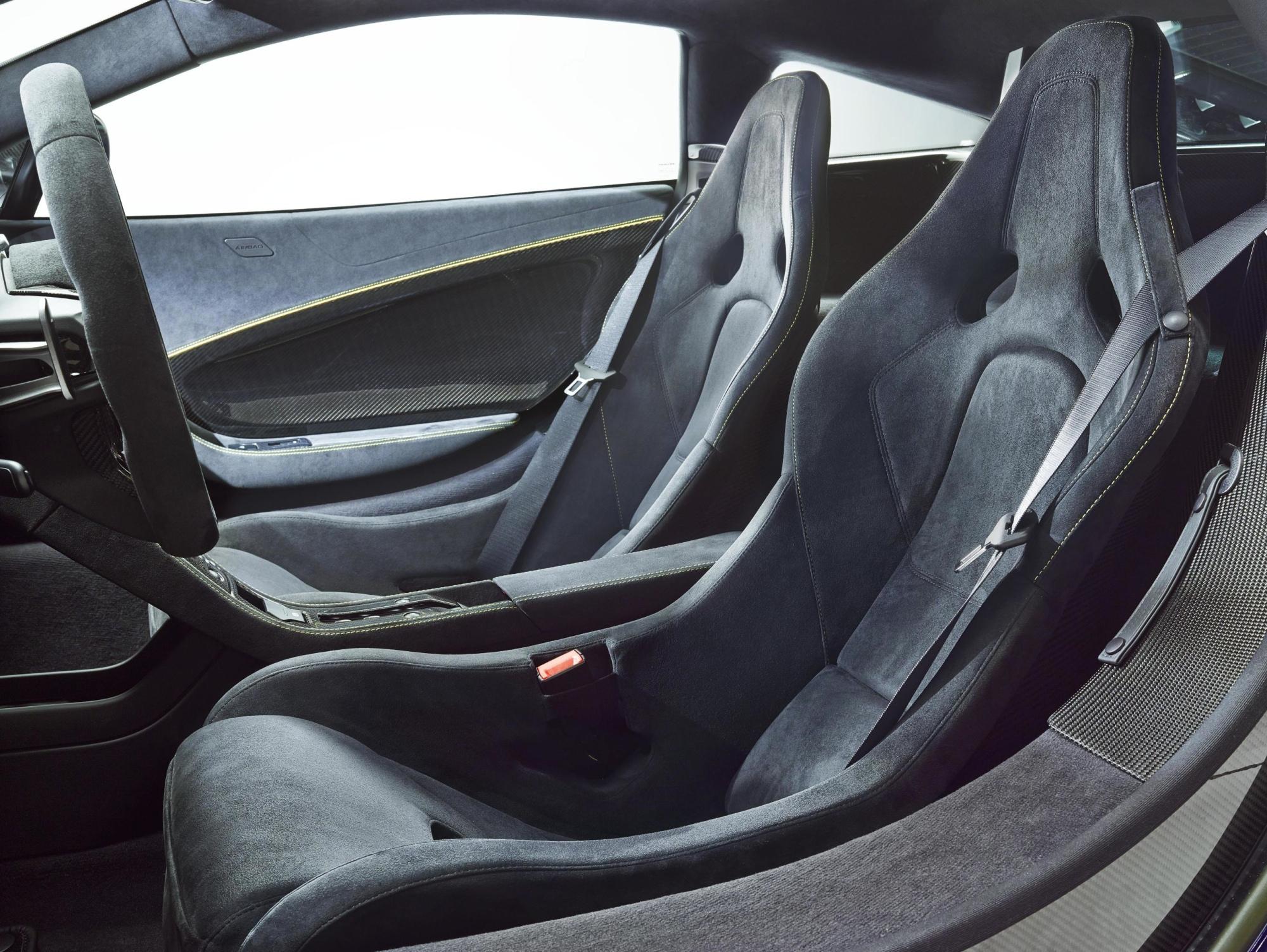 Captivating ... McLaren 650S Interior In Alcantara