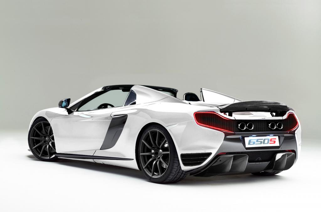 McLaren 650S Fully Dressed as a P1: Virtual Tuning - autoevolution