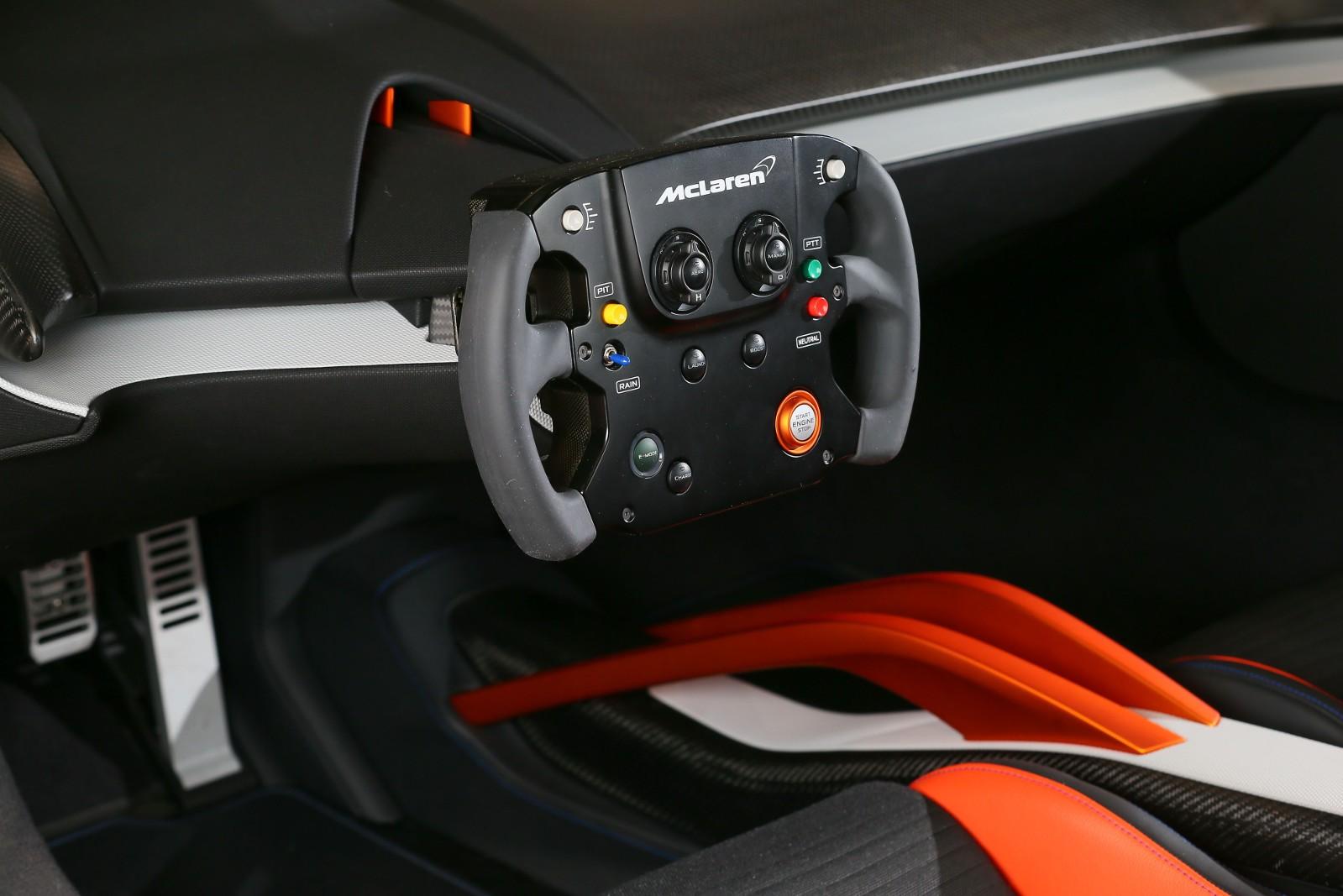 Mclaren 675lt Concept Built With Jvckenwood P1 Gtr Steering Wheel