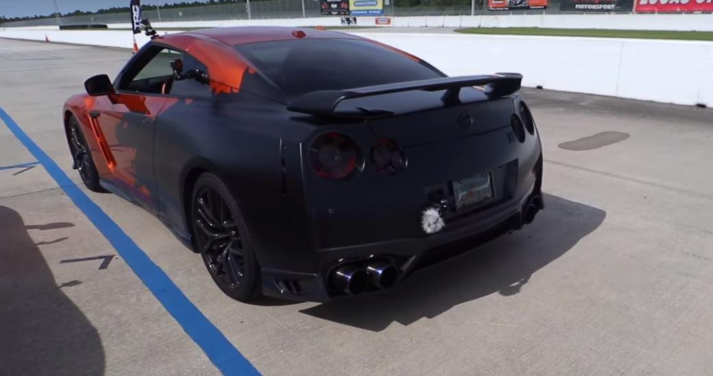 Mclaren 720s Vs 750 Hp Nissan Gt R Drag Race Ends In
