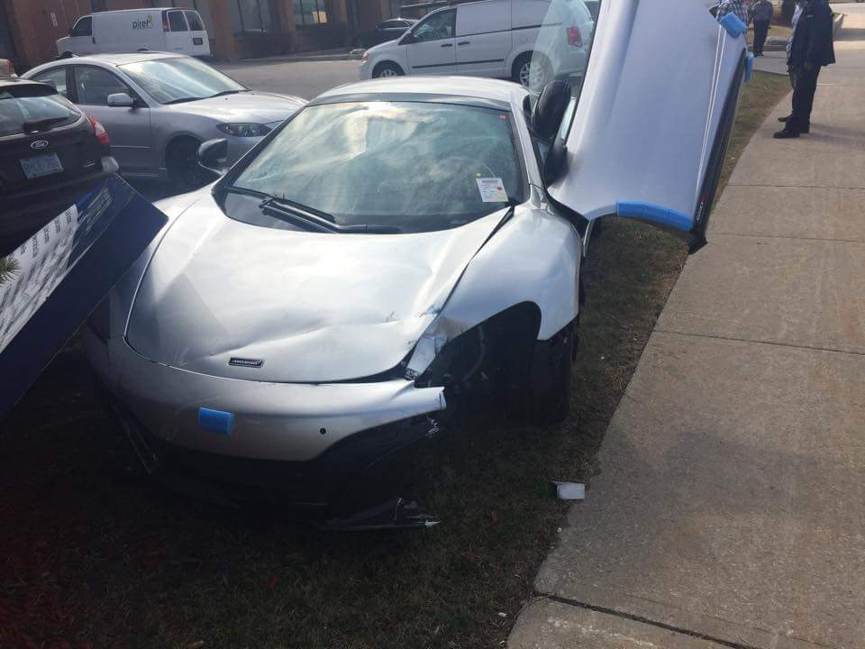 Mclaren Dealer Employee Crashes Brand New 650s With